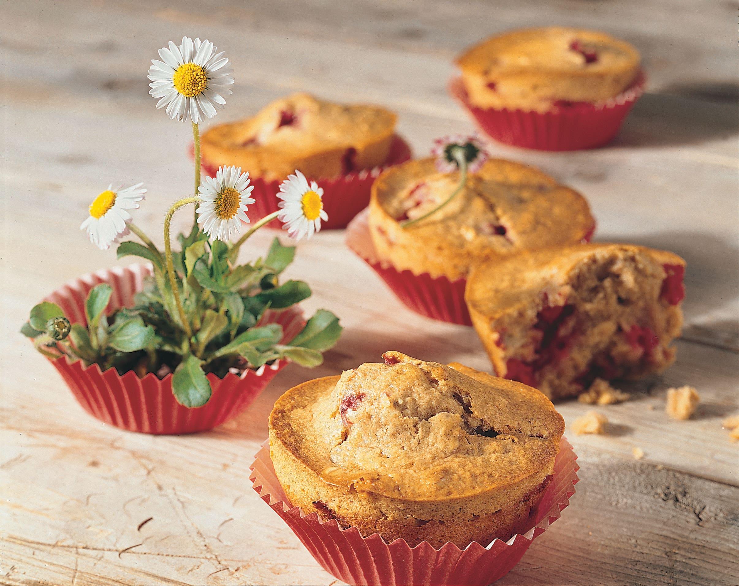 Müesli-Muffins mit Mascarpone