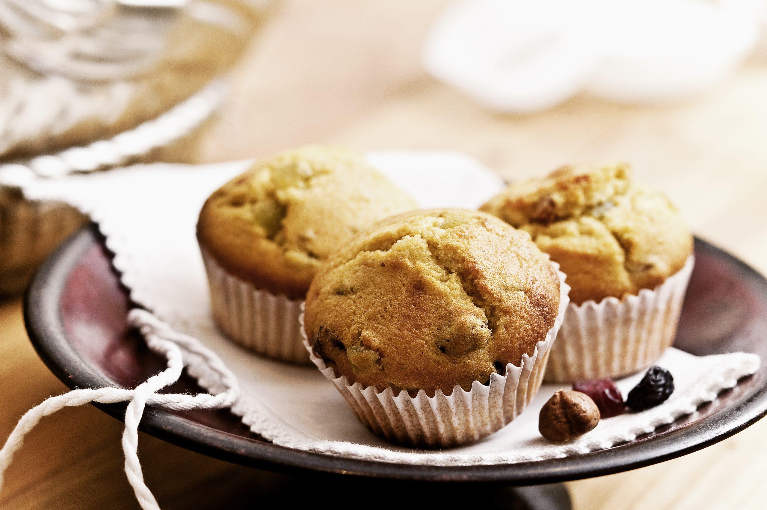 Muffins mit Dörrfrüchten