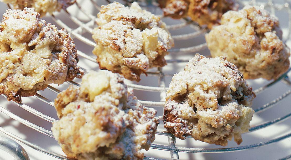 Biscuits aux pommes et aux noisettes