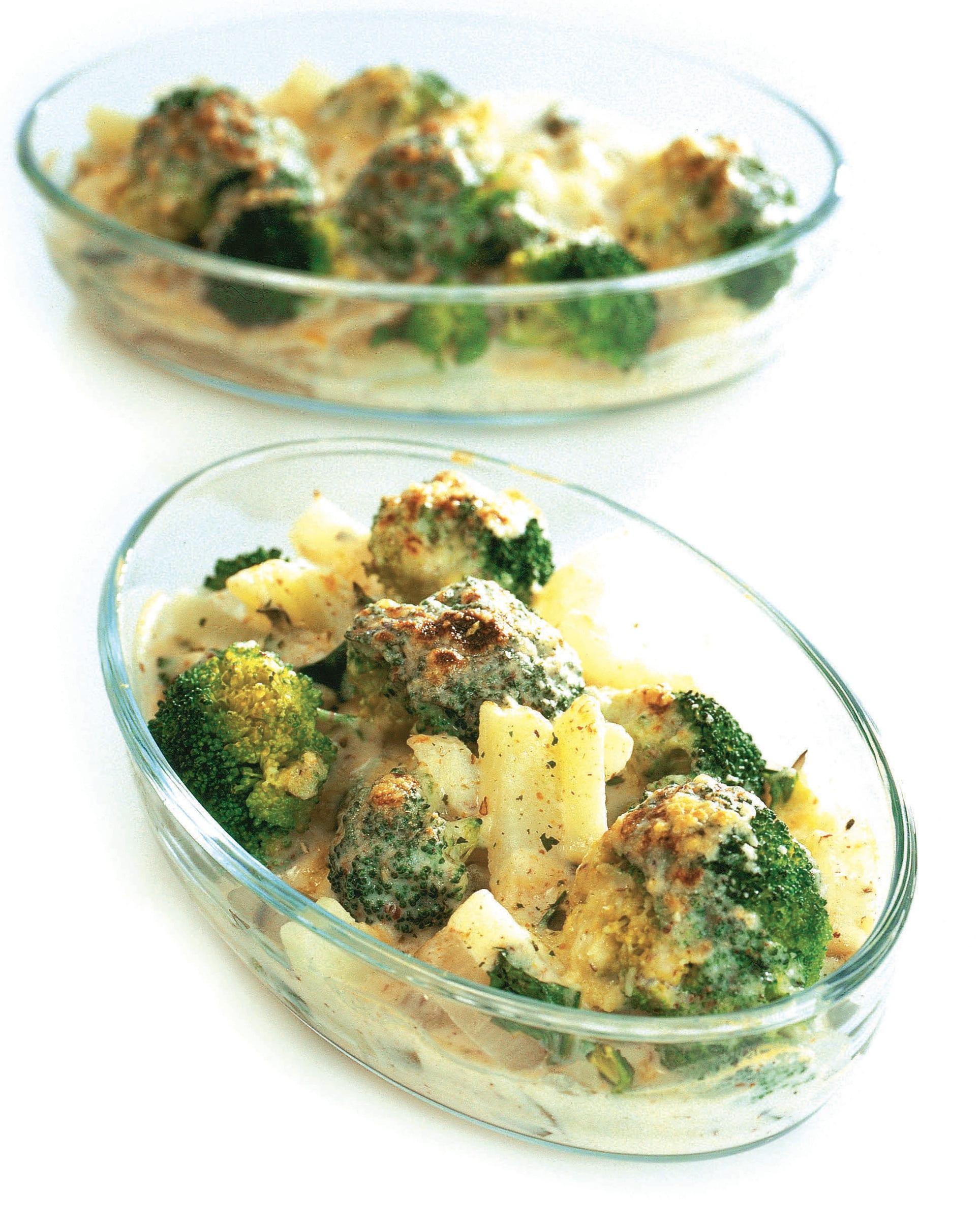 Gratin aux noisettes et aux légumes