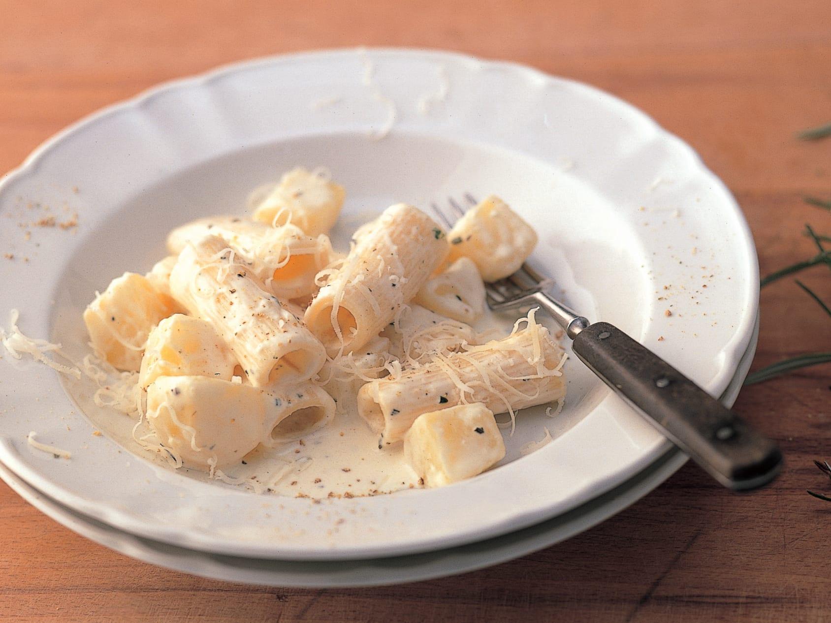 One pot pasta aux pommes de terre