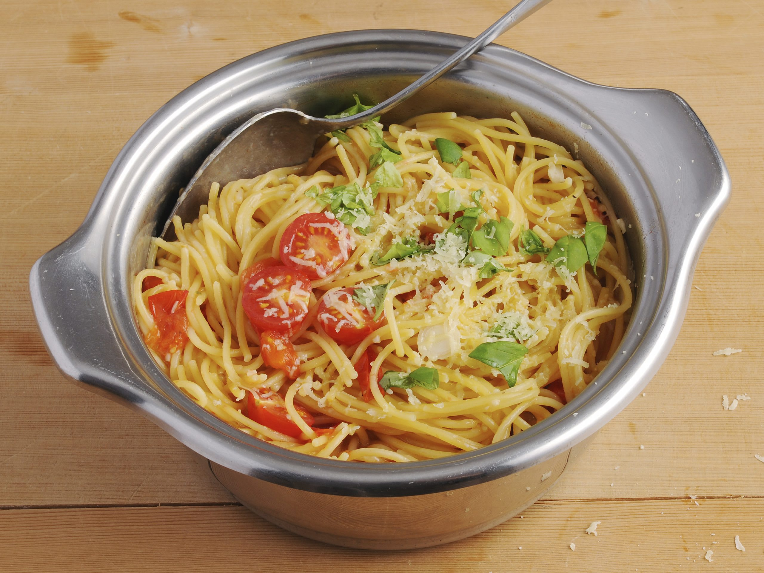 One pot pasta aux tomates