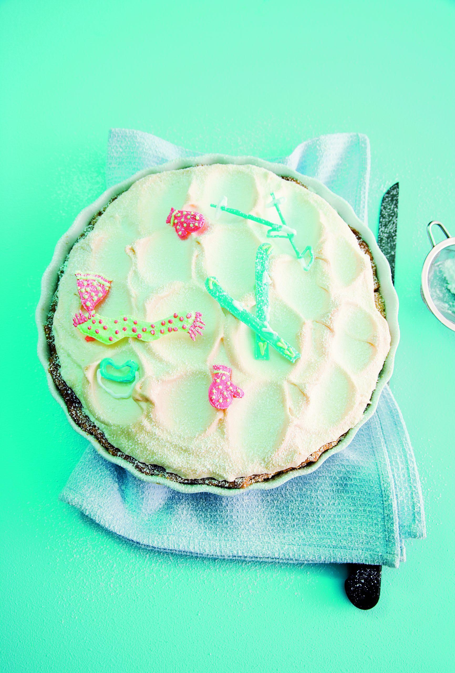 Orangen-Meringue-Torte