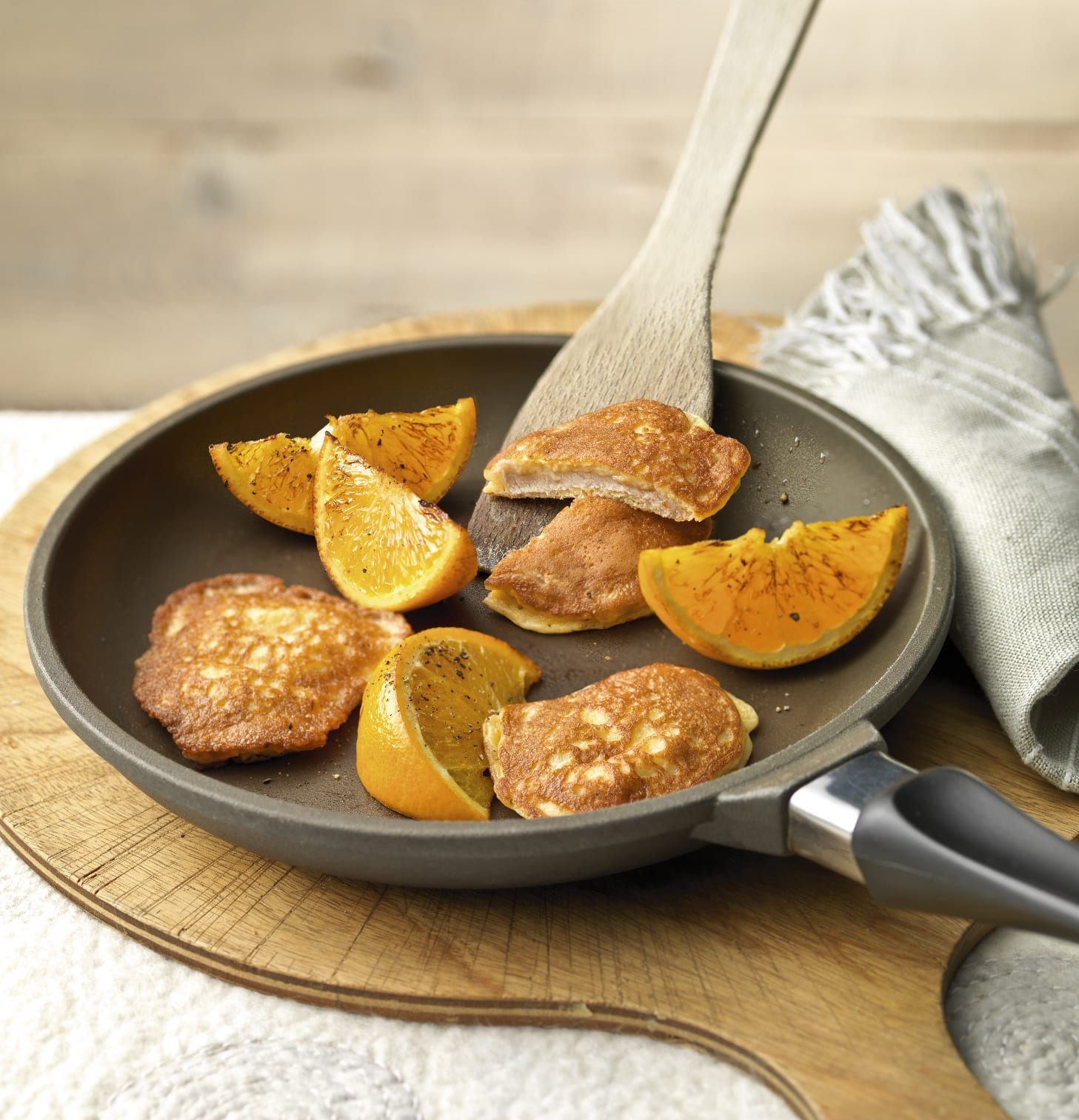 Orangen-Piccata