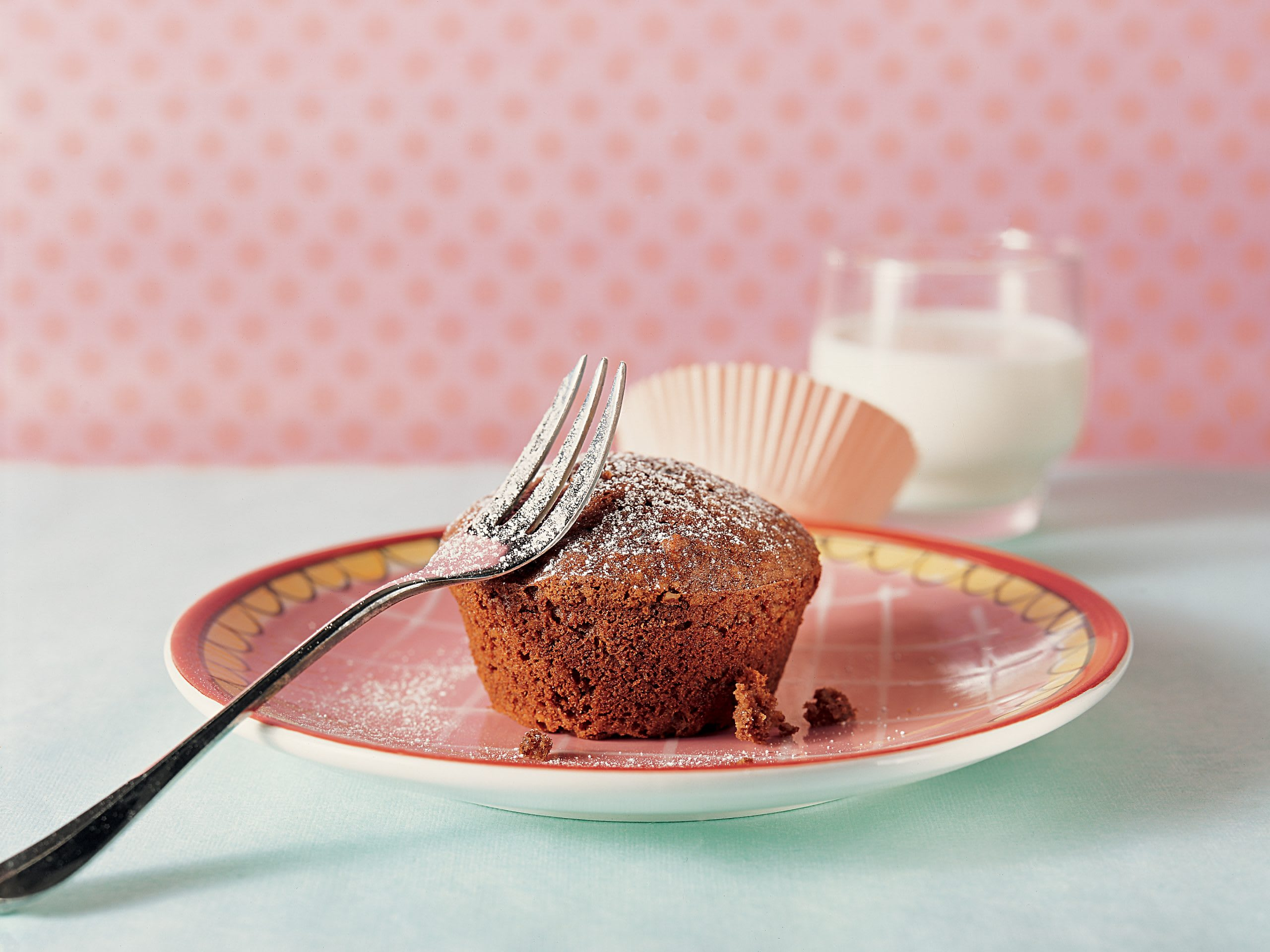 Muffins aux carottes et à l'Ovomaltine
