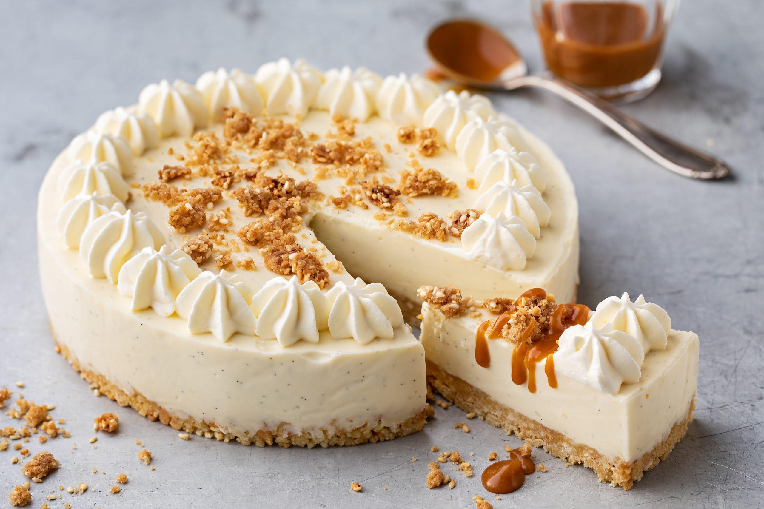Gâteau à la panna cotta (sans cuisson)