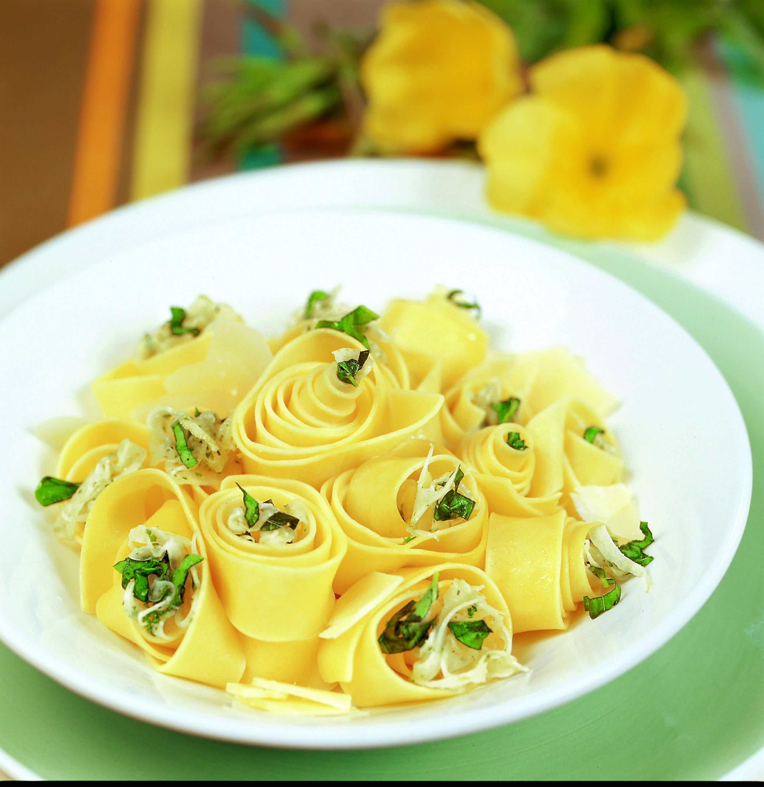 Pappardelle mit Fenchel und Zitrone