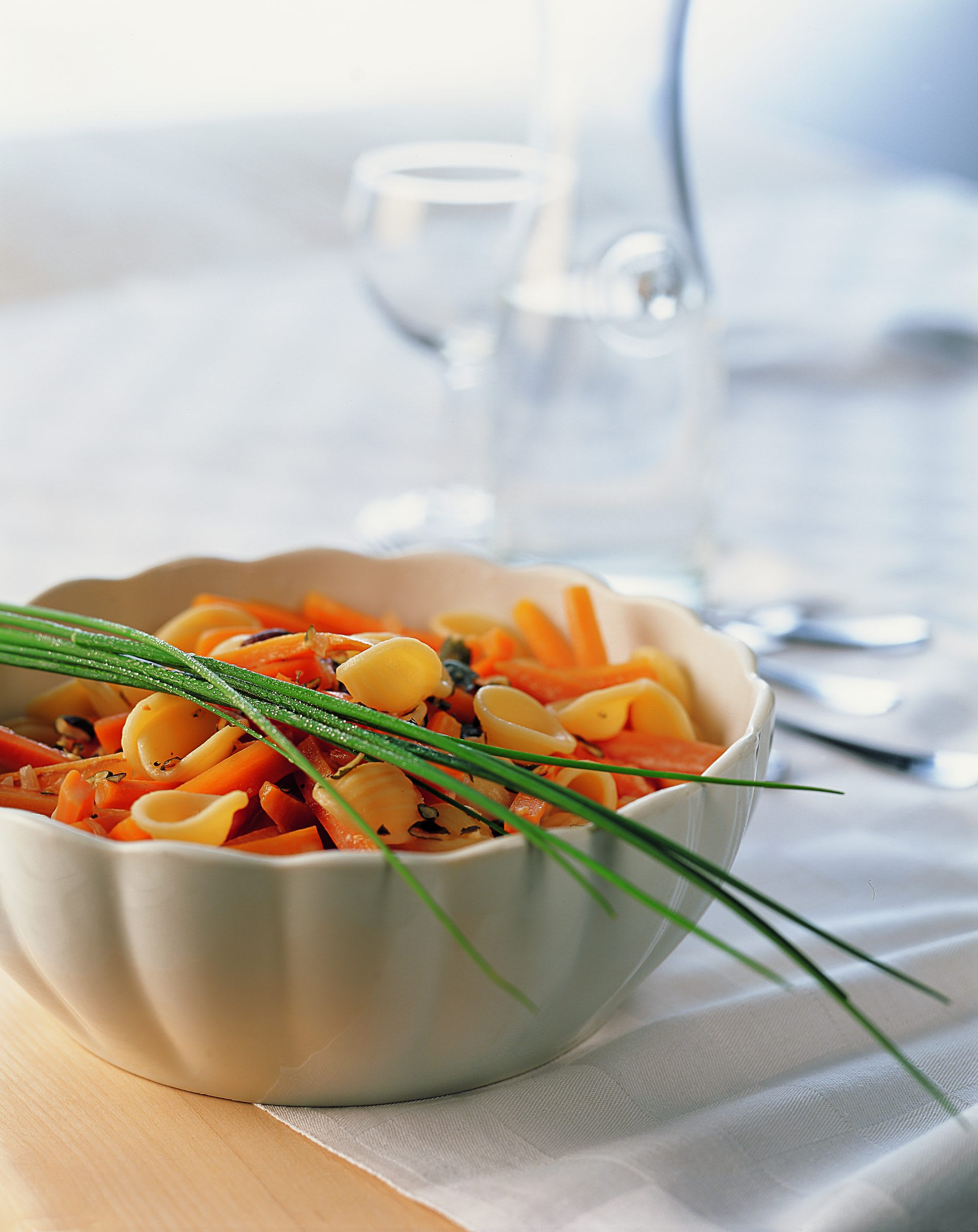 Orecchiette sauce aux carottes