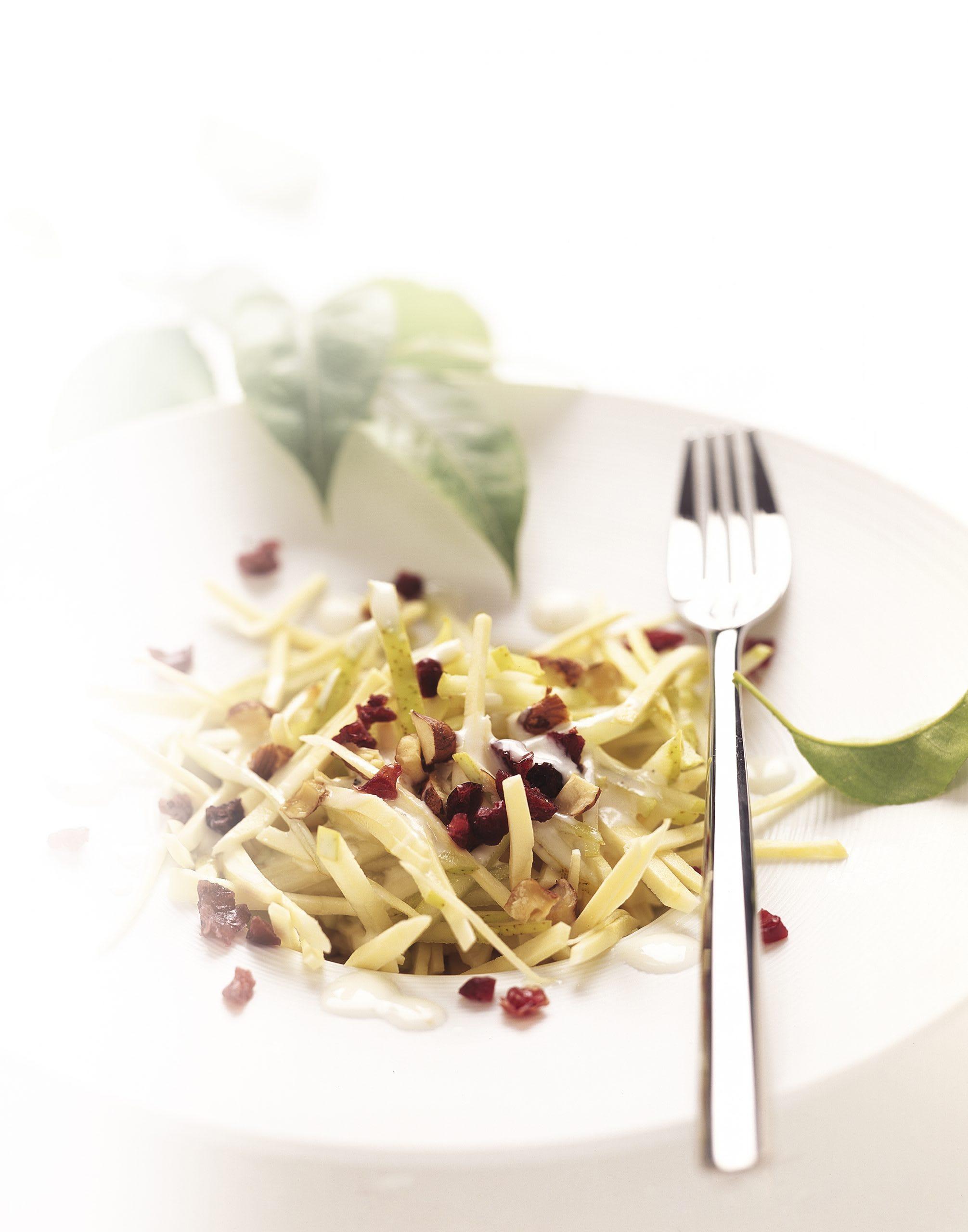 Salade de poires et de panais
