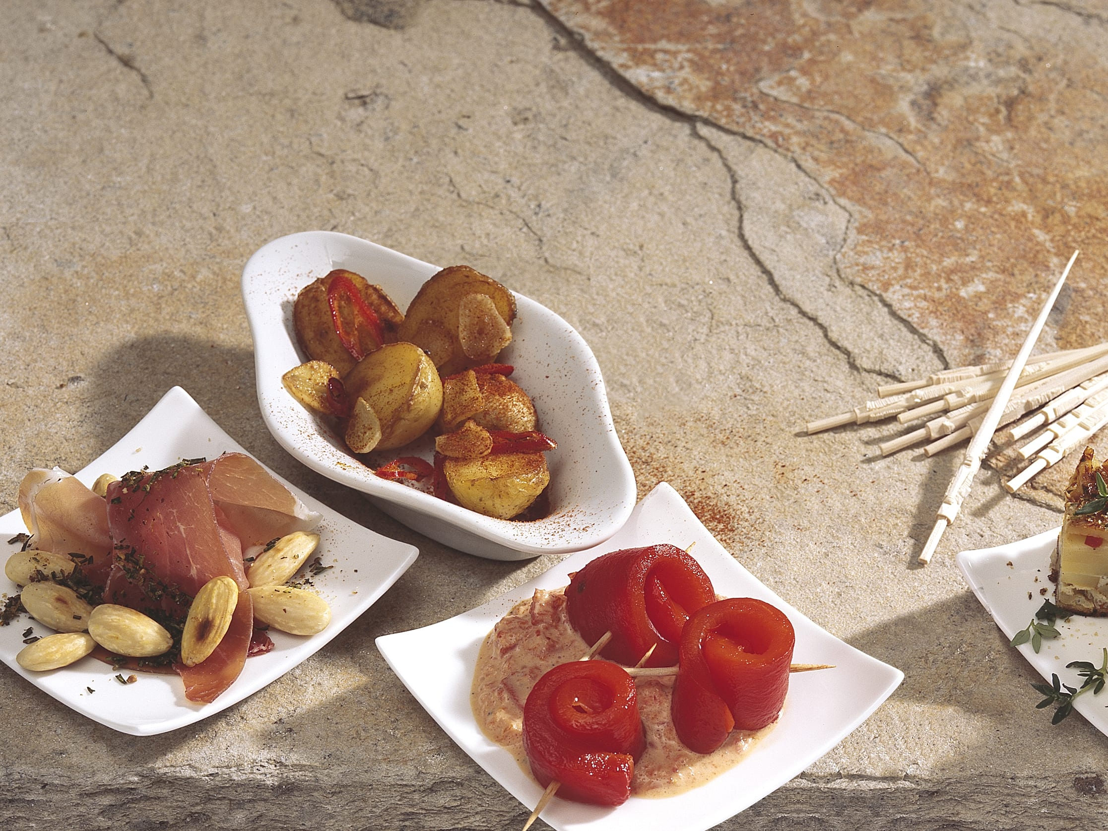 Patatas picantes (pikante Kartoffeln)