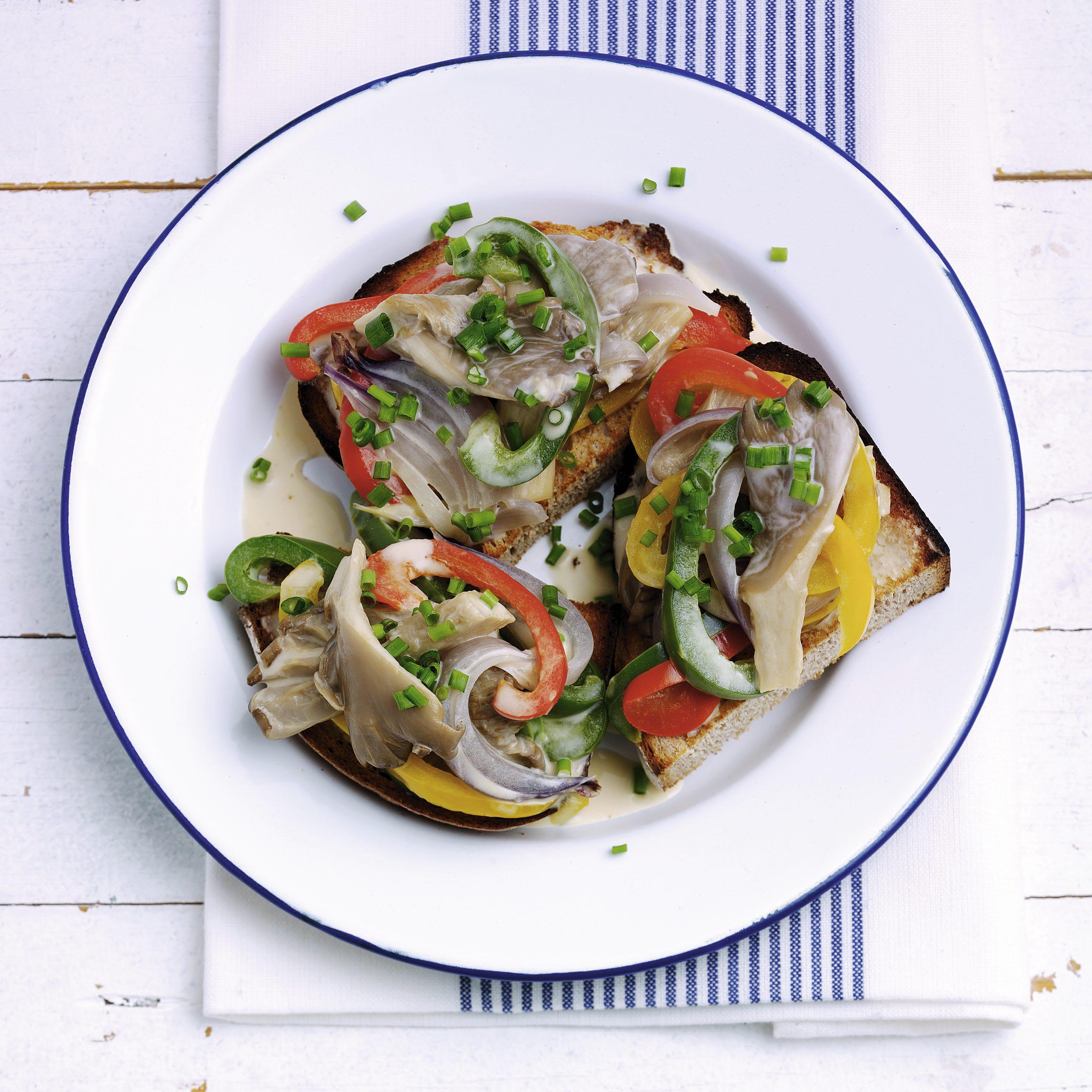 Goulash poivrons-champignons