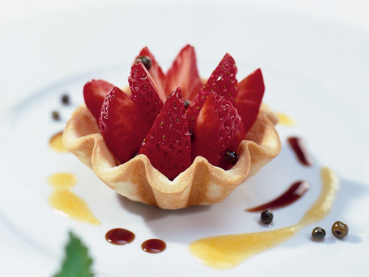 Petit panachés de fraises