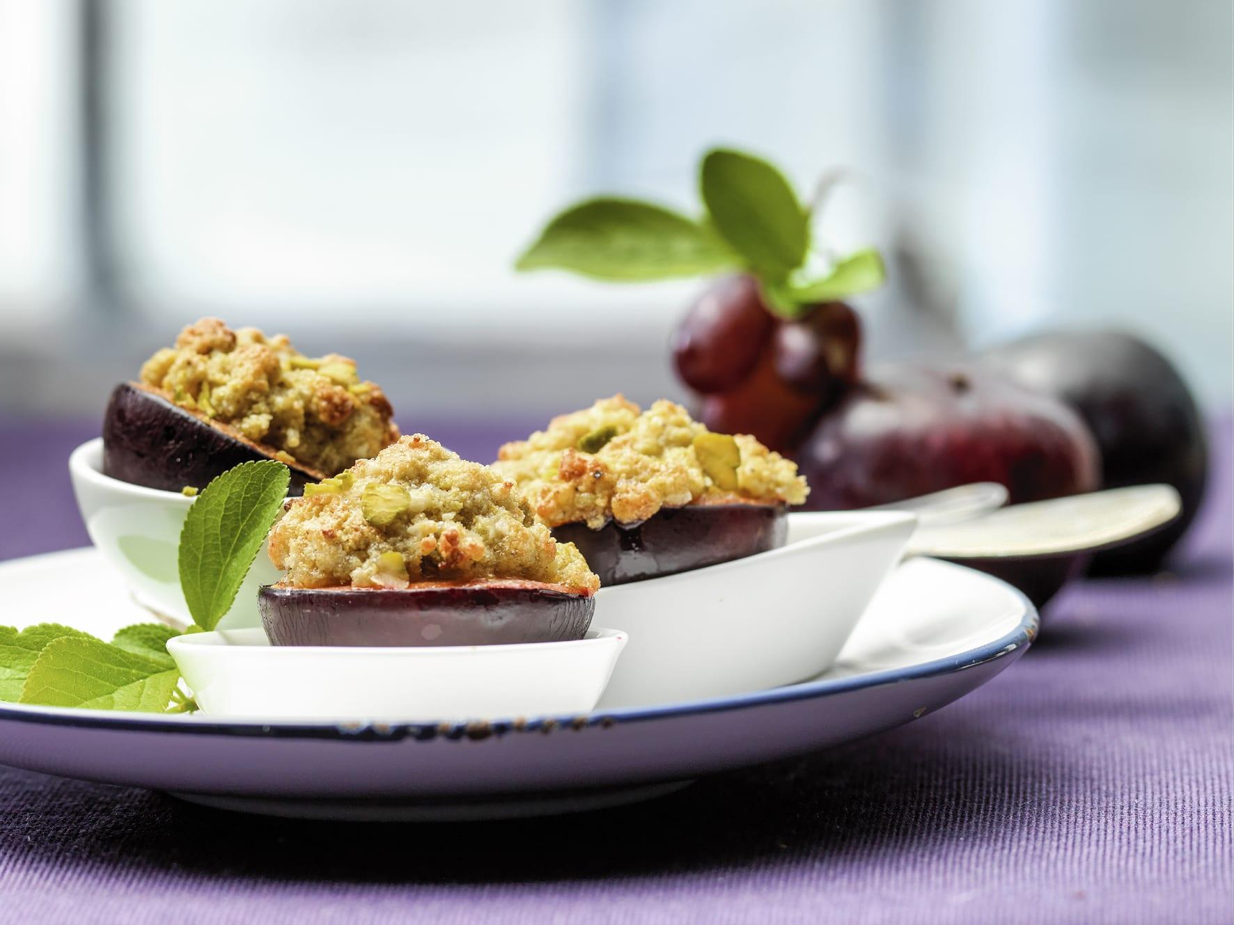 Prunes farcies aux pistaches