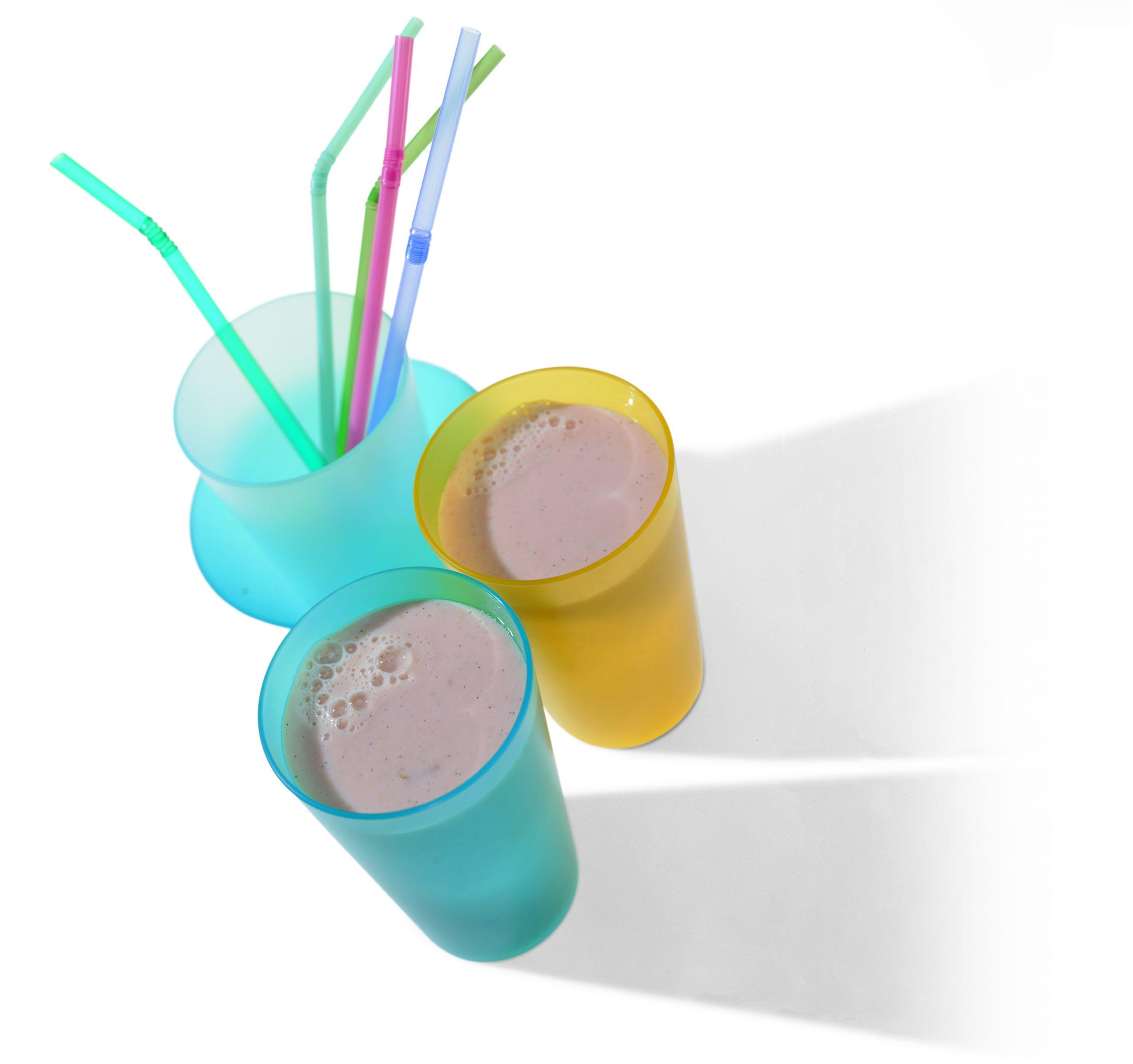 Pflaumen-Vanille-Drink