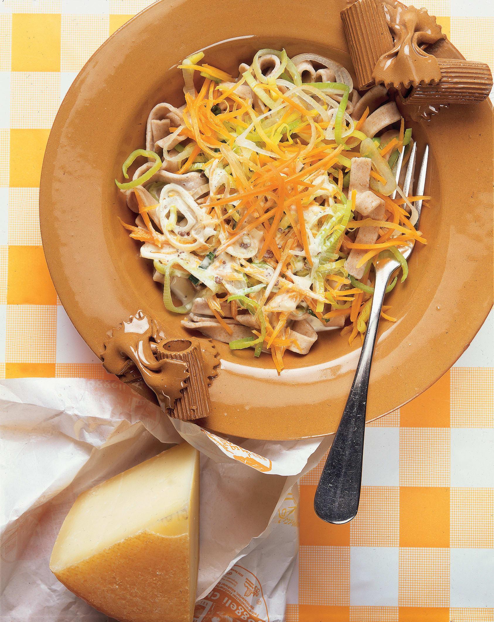 Nouilles aux légumes et à la cannelle