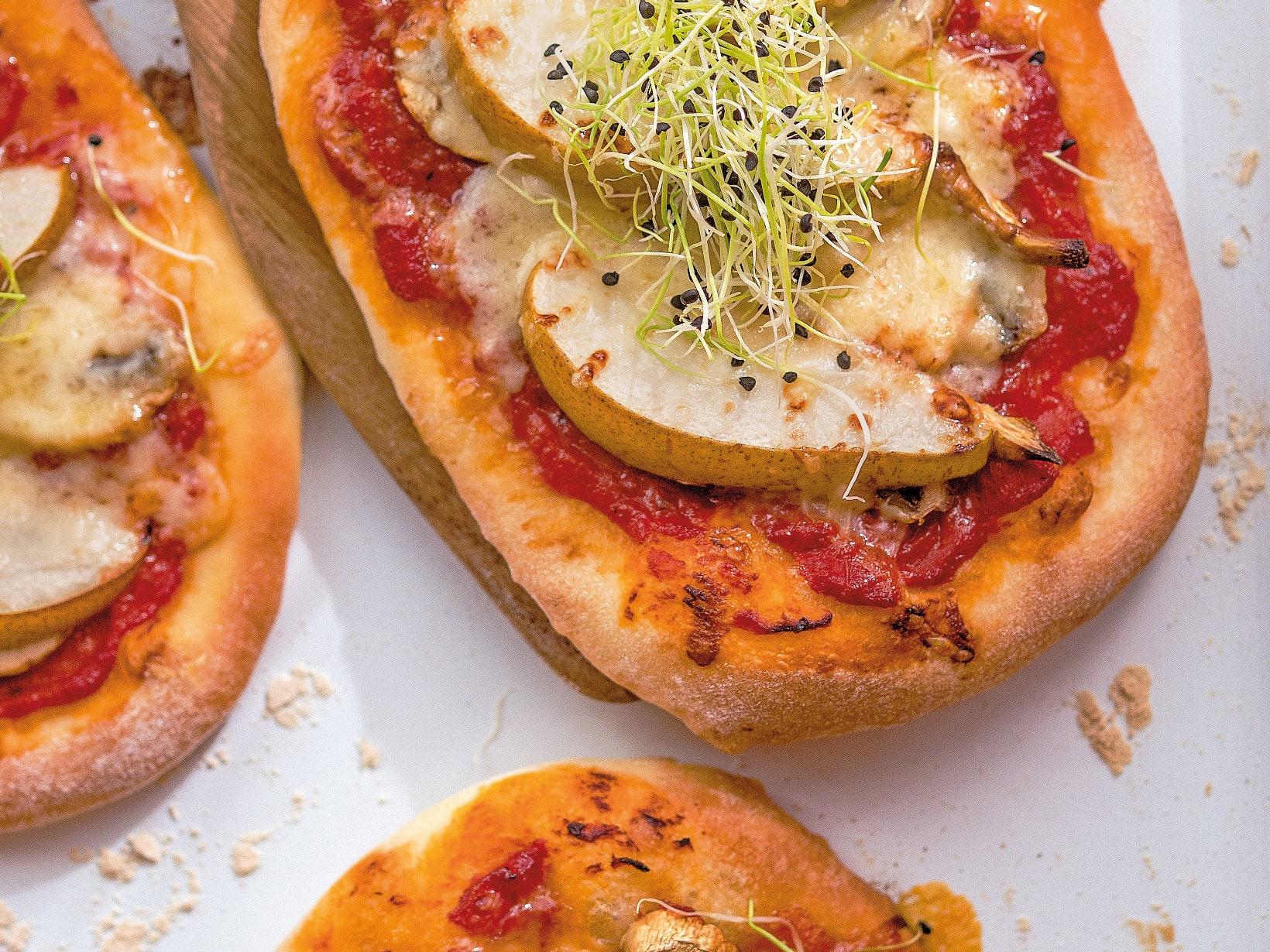 Pizza moitié-moitié