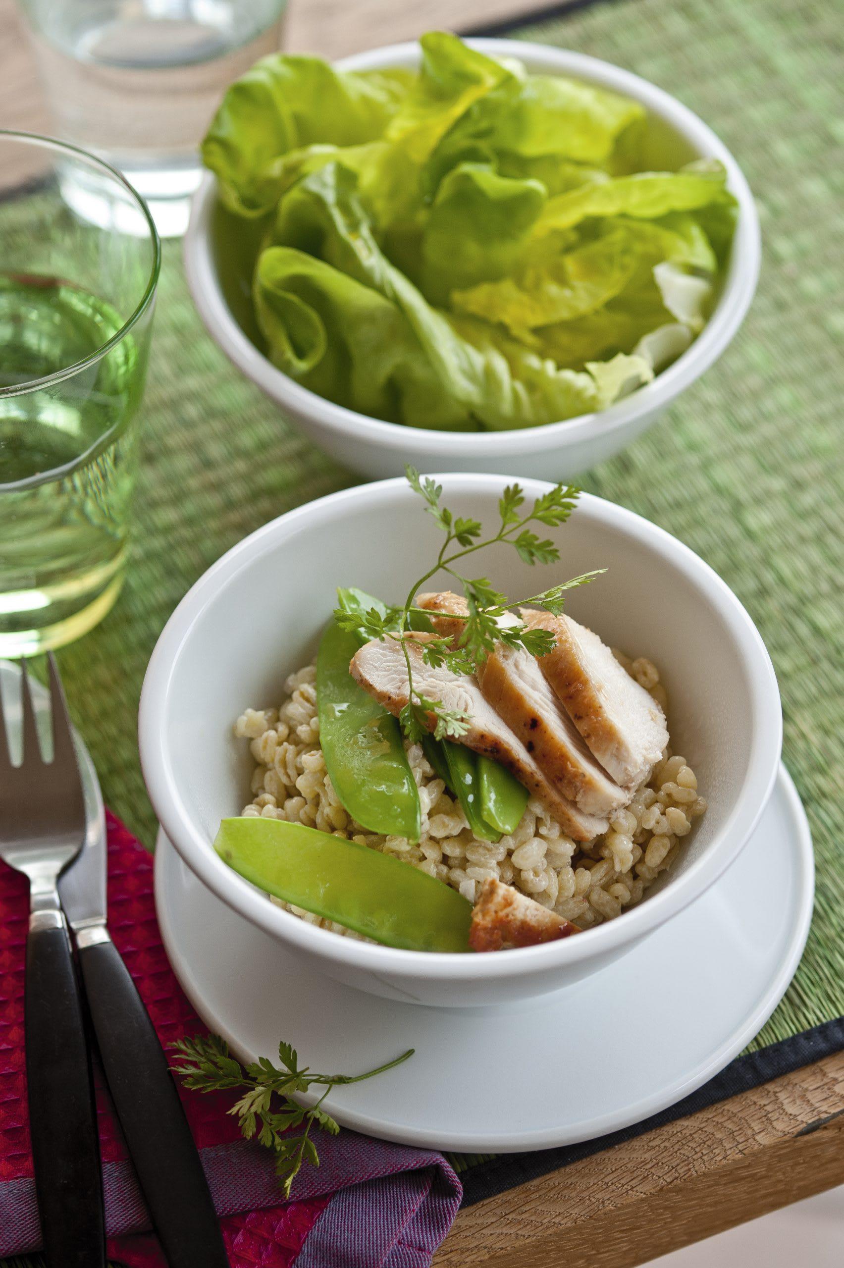 Poulet-Ebly-Salat