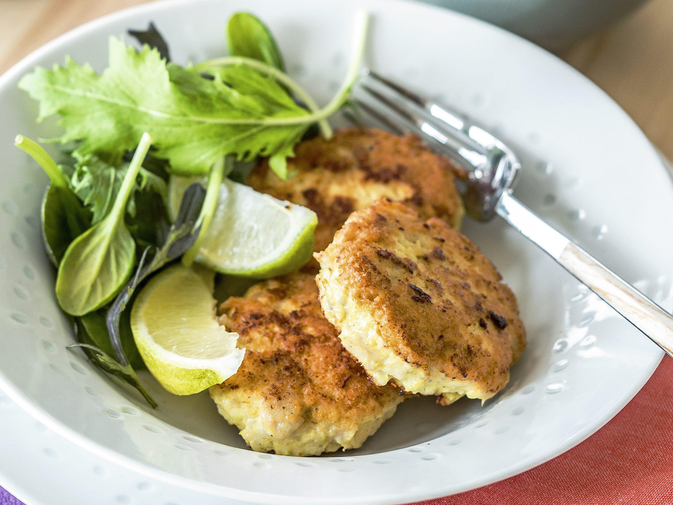 Croquettes de poulet sauce pomme-gingembre