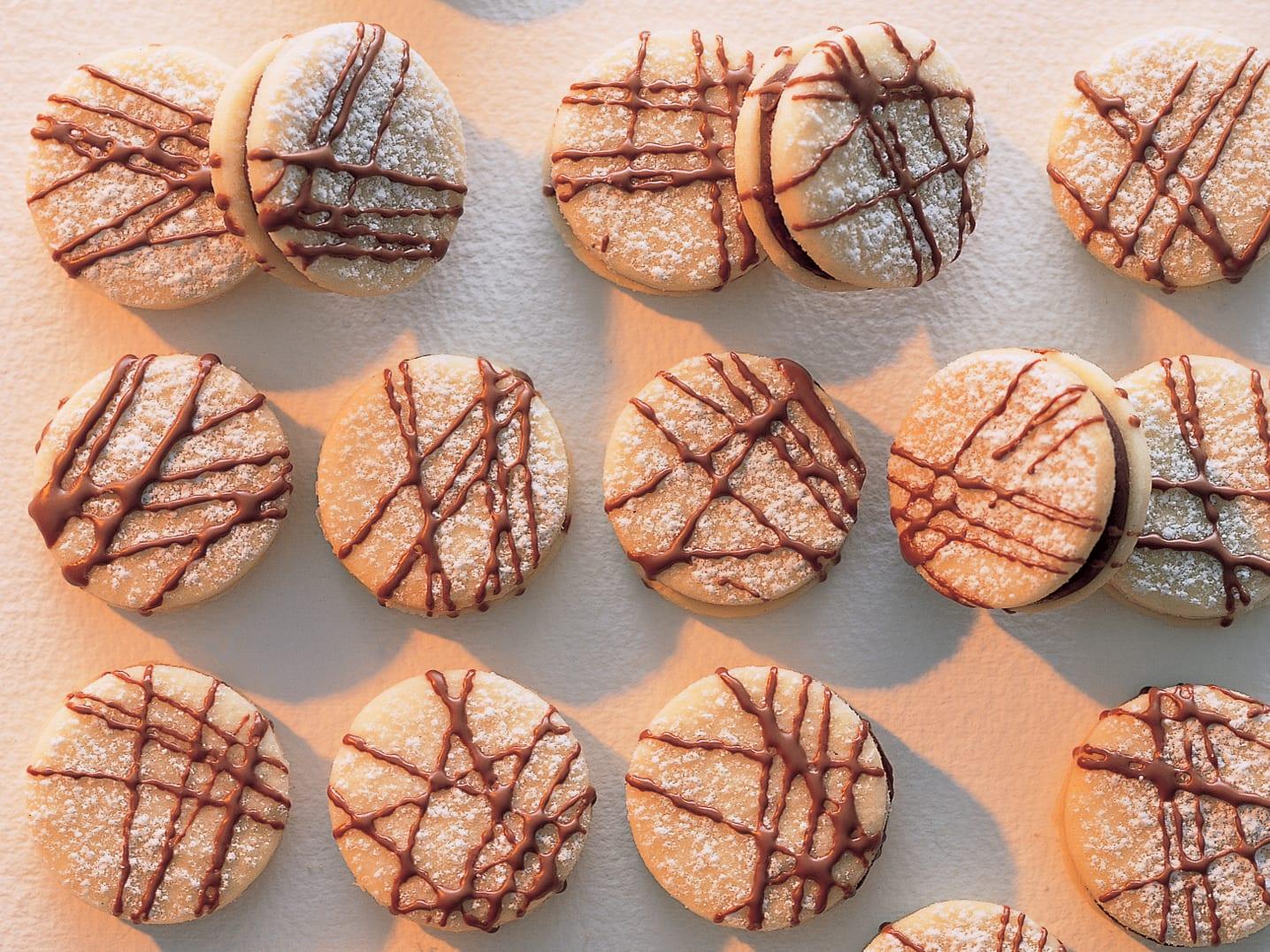 Biscuits au chocolat façon macaron