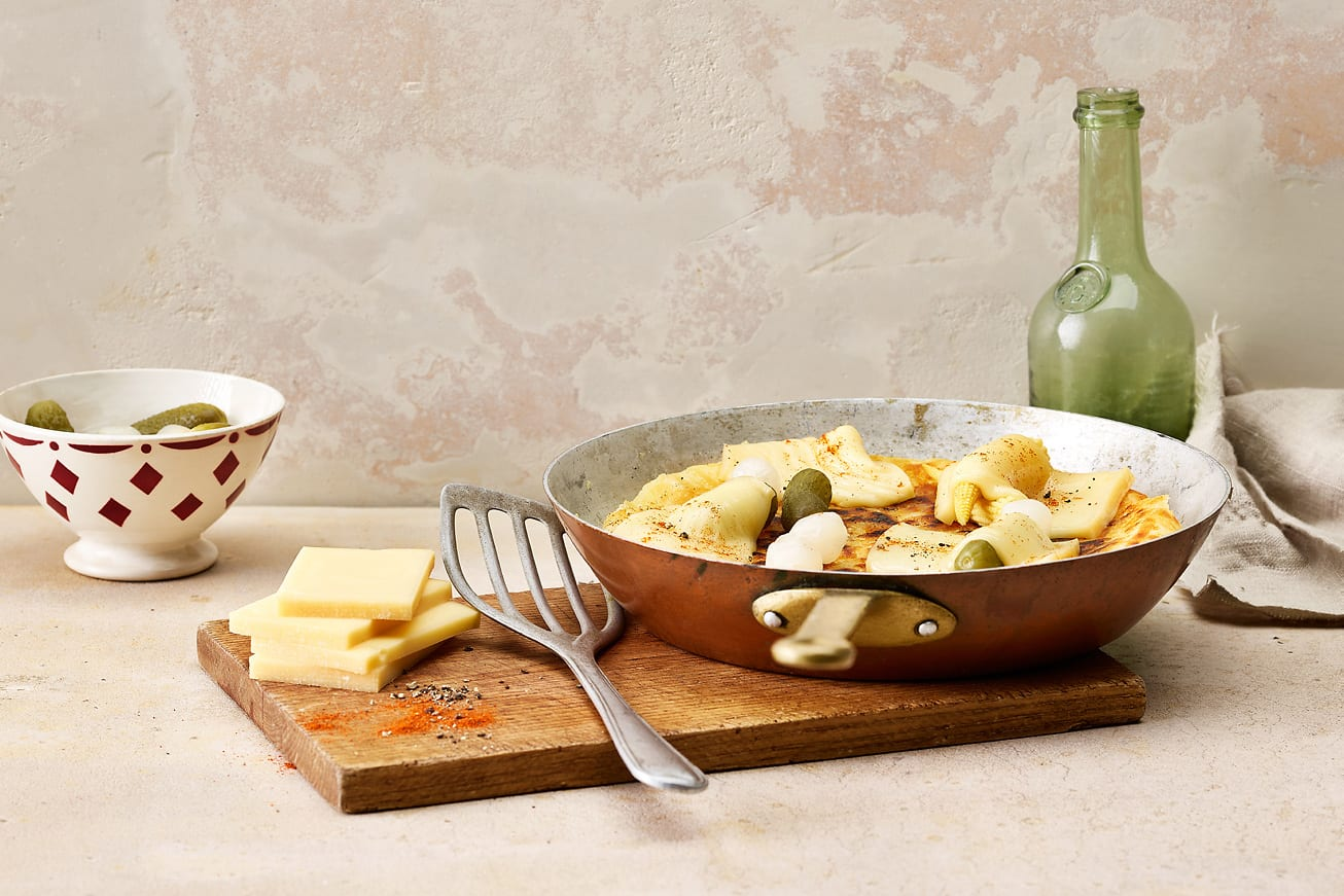 Raclette-Rösti