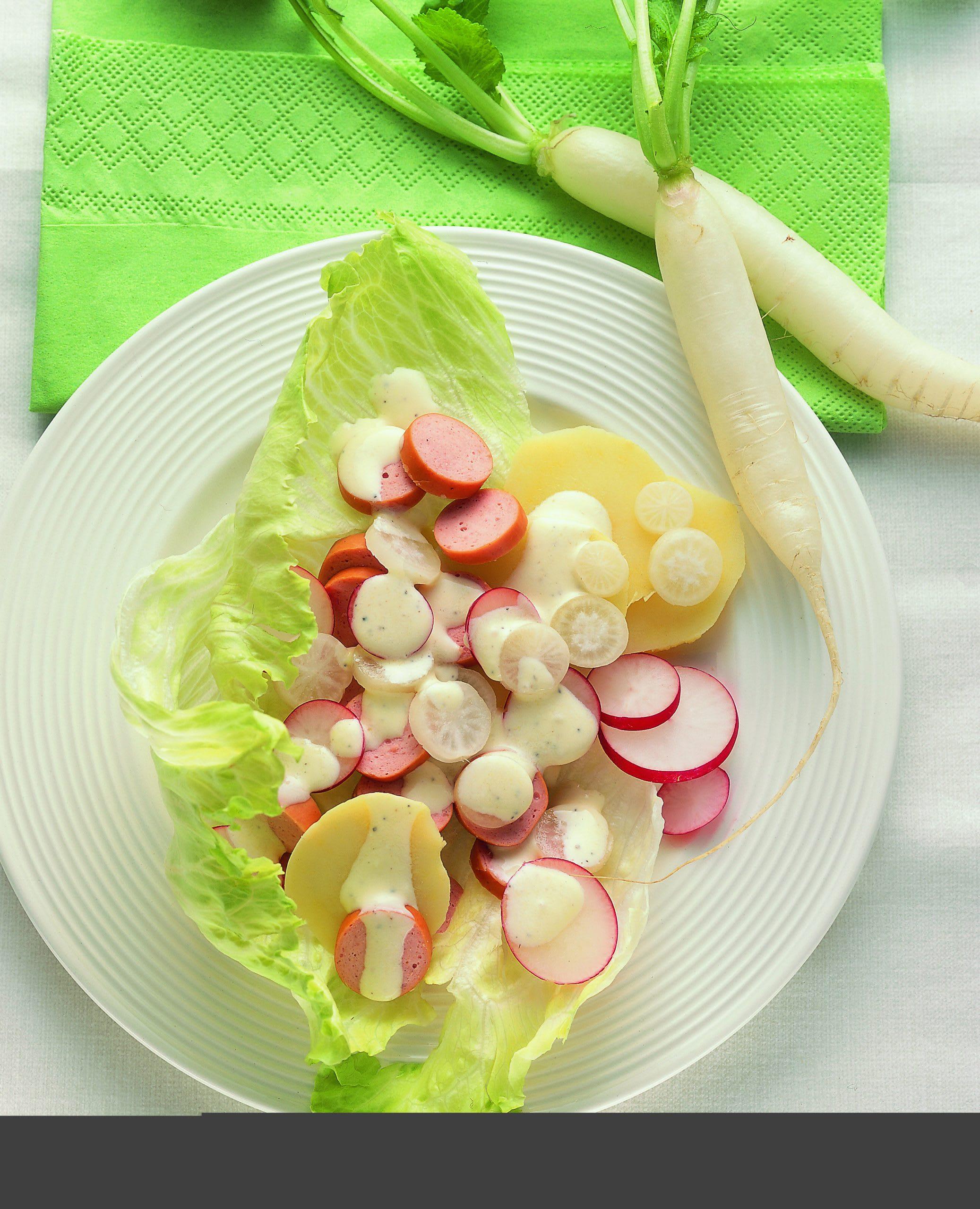 Salade de radis