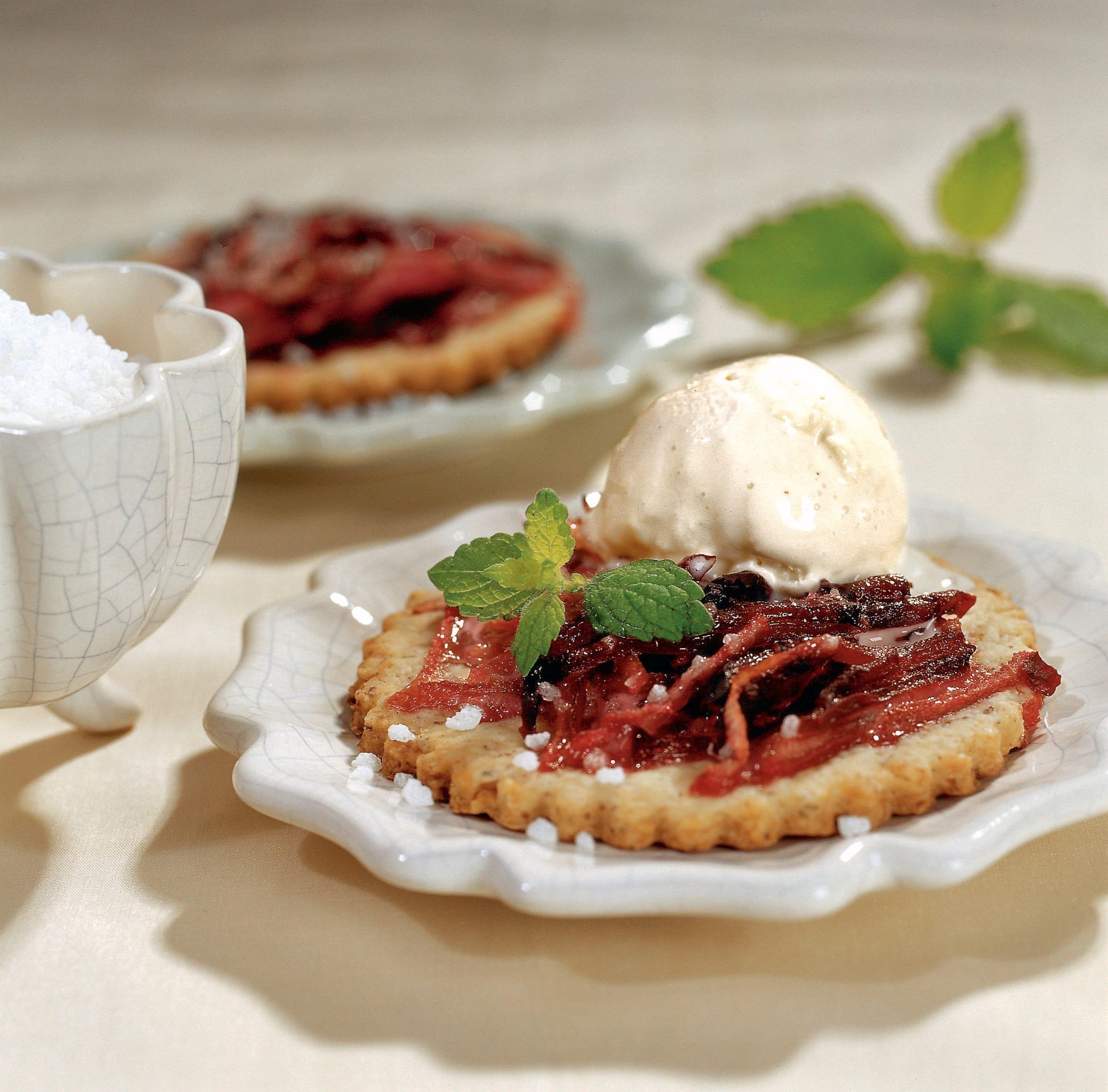 Tartelettes aux betteraves et aux poires