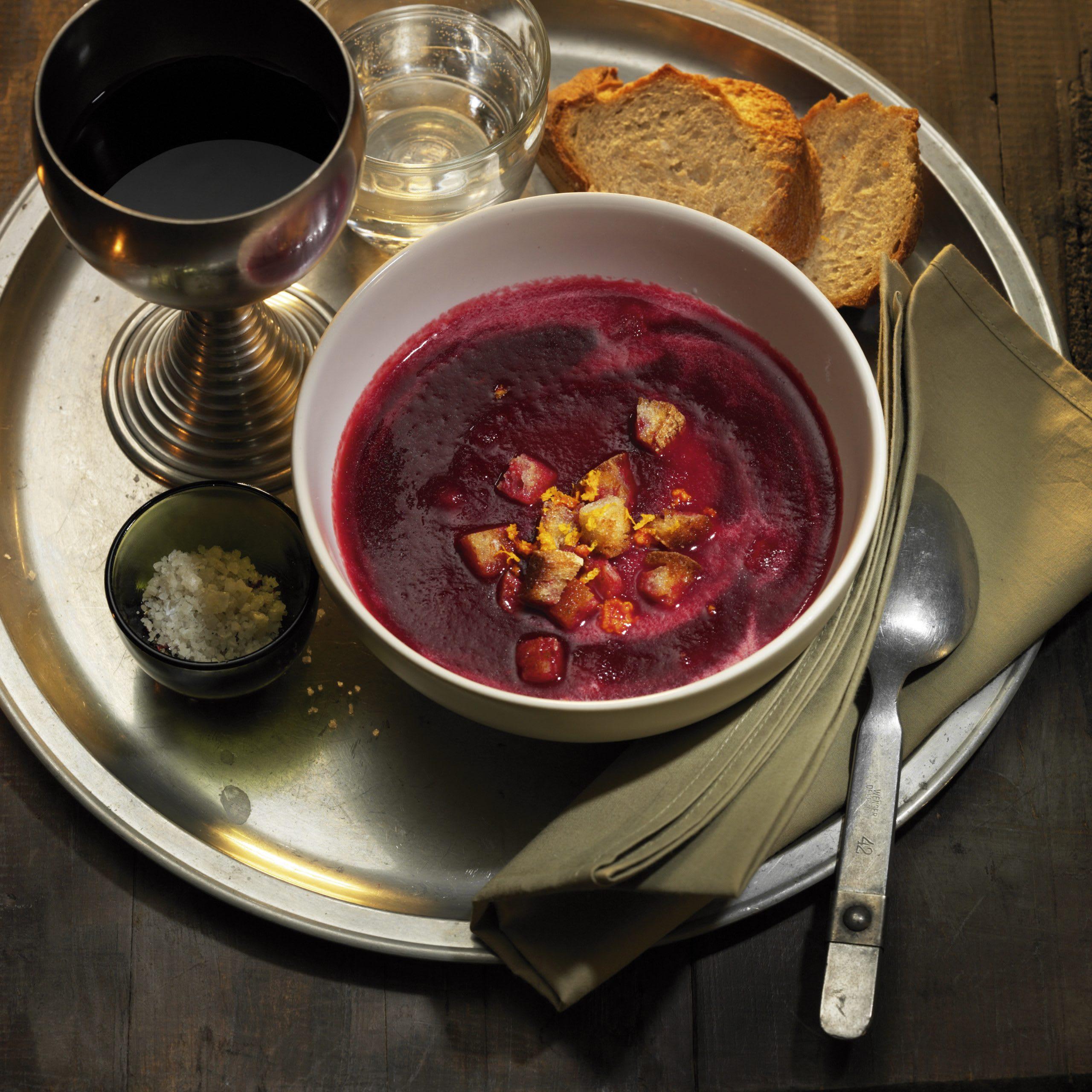 Randen-Orangen-Suppe