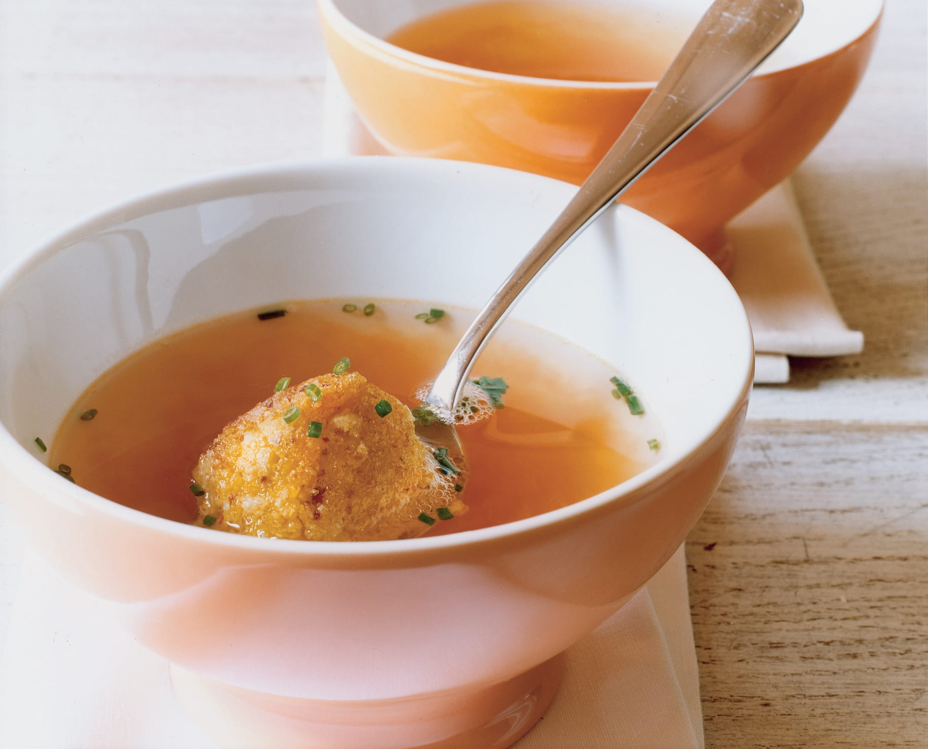 Reisbällchen-Suppe