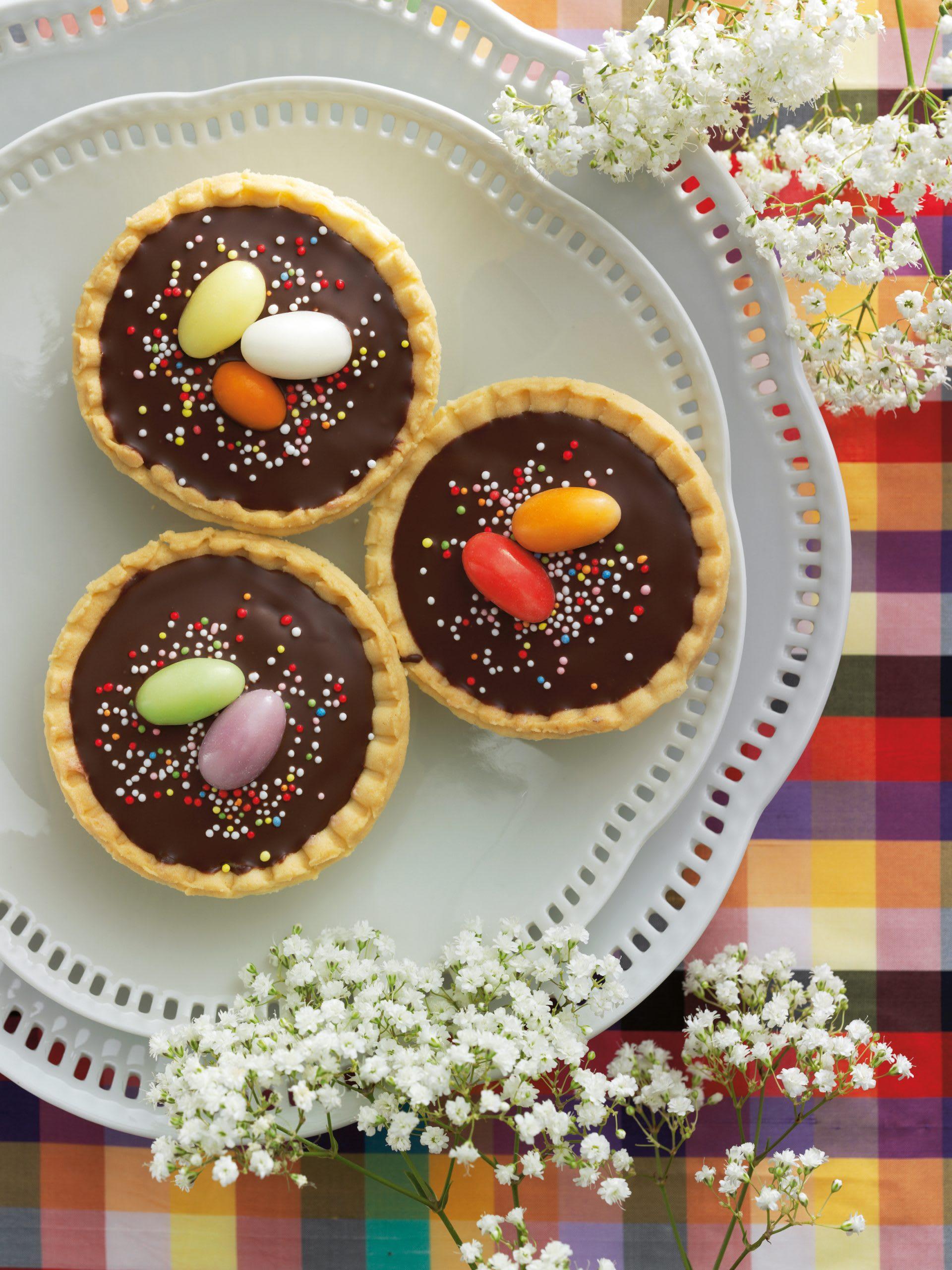 Caracs rhubarbe-chocolat