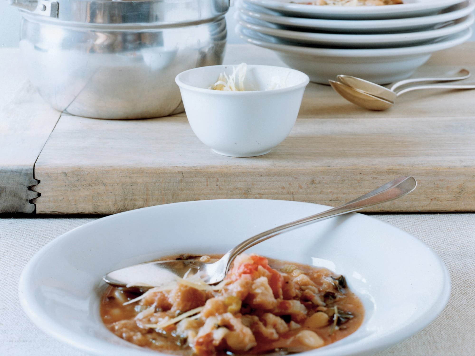 Ribollita (Soupe au pain toscane)