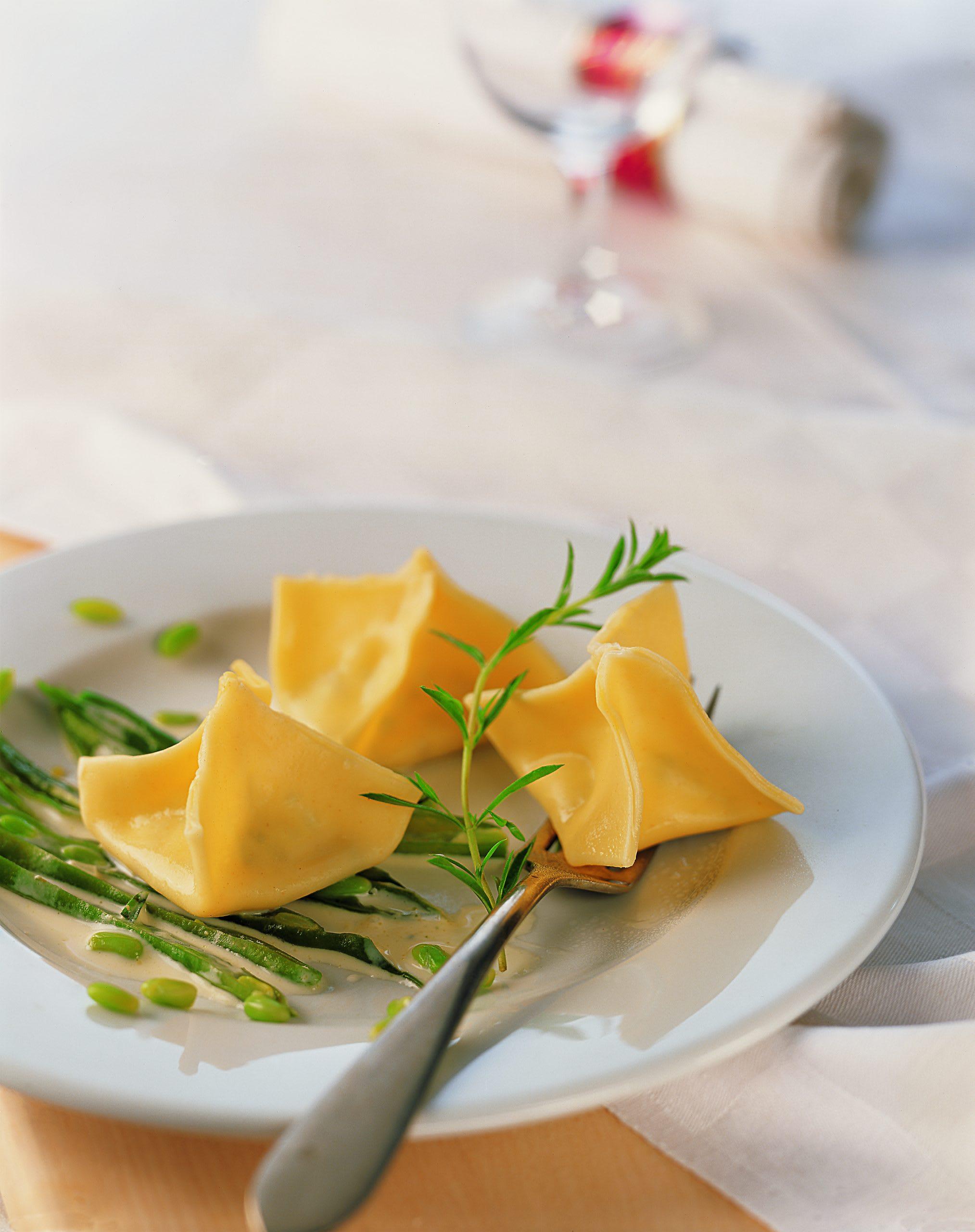 Ricotta-Zitronen-Beutelchen