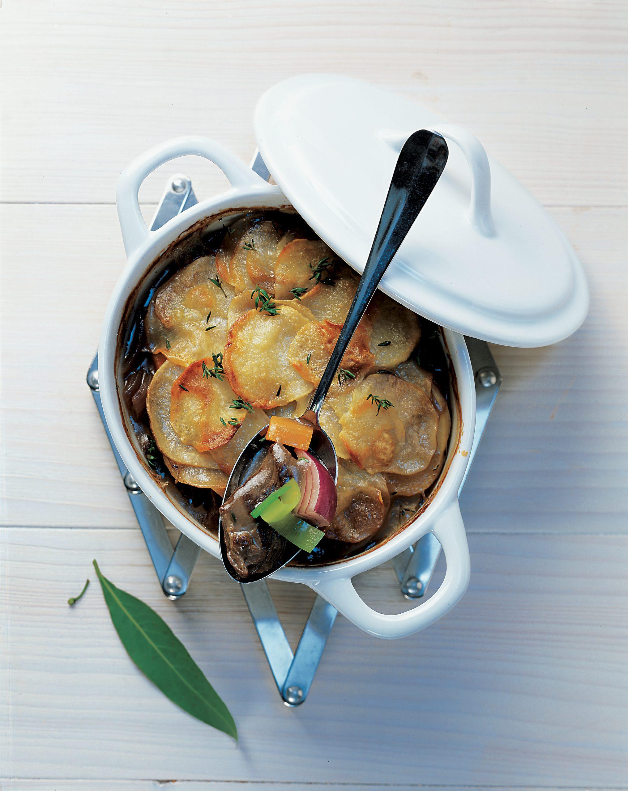 Rindfleisch-Kartoffel-Auflauf