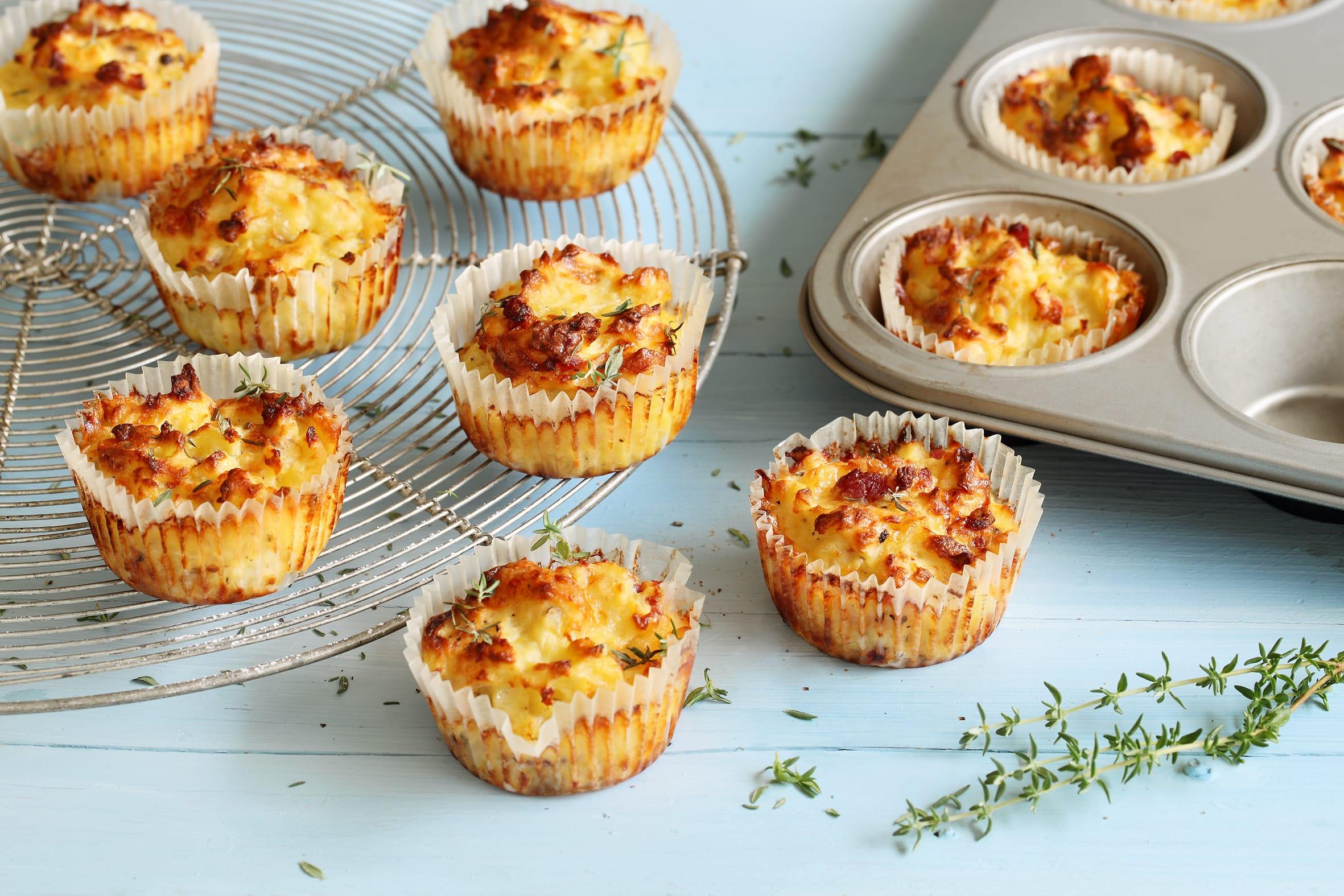 Muffins de rösti