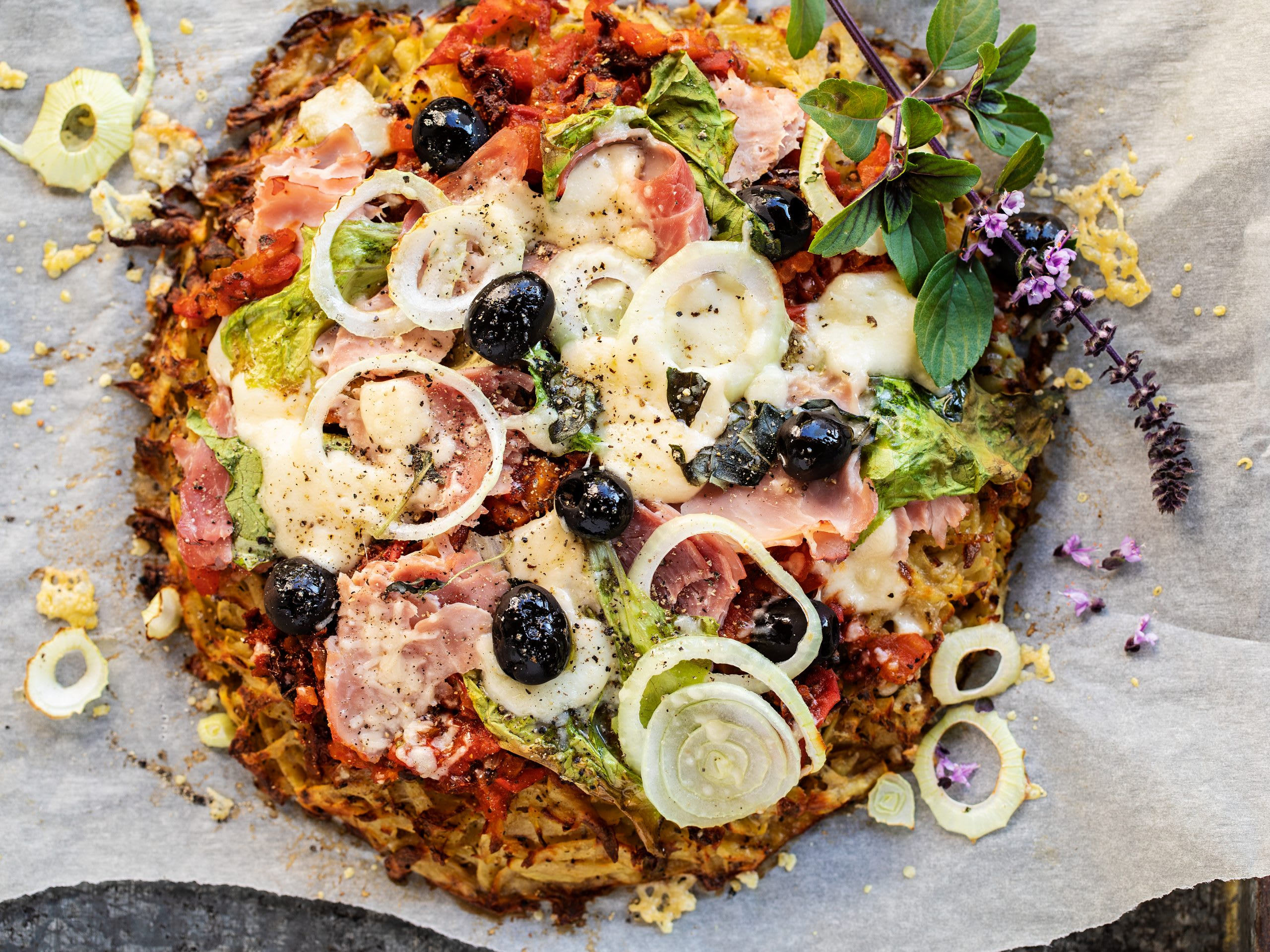 Rösti-Pizza