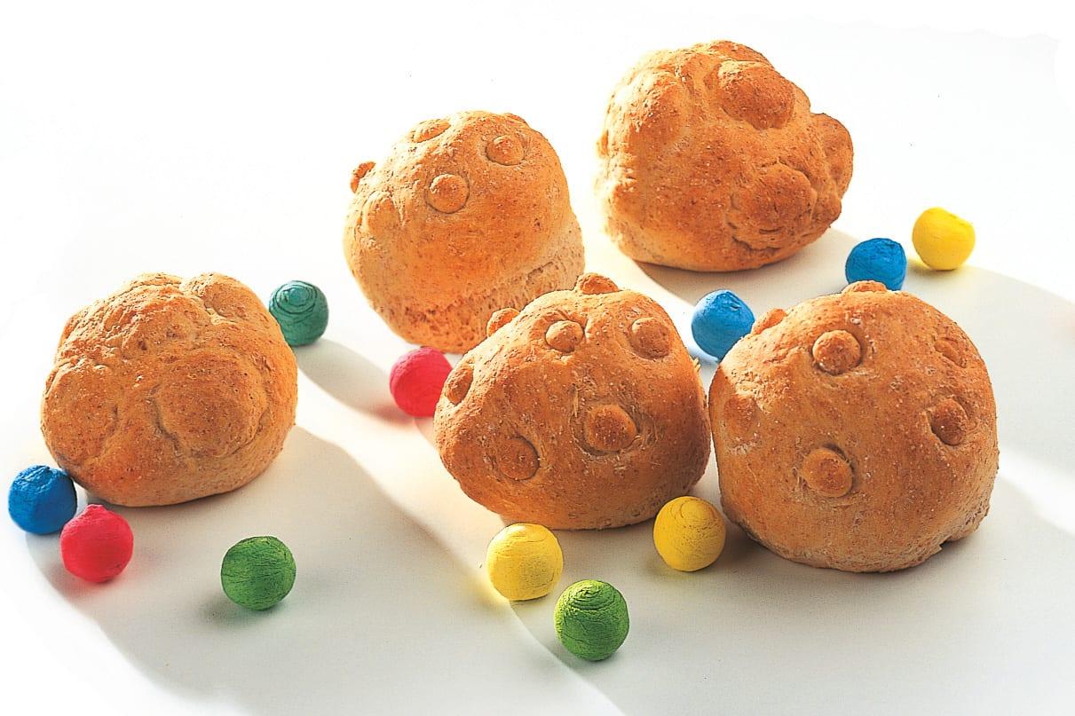 Petits pains aux raisins secs
