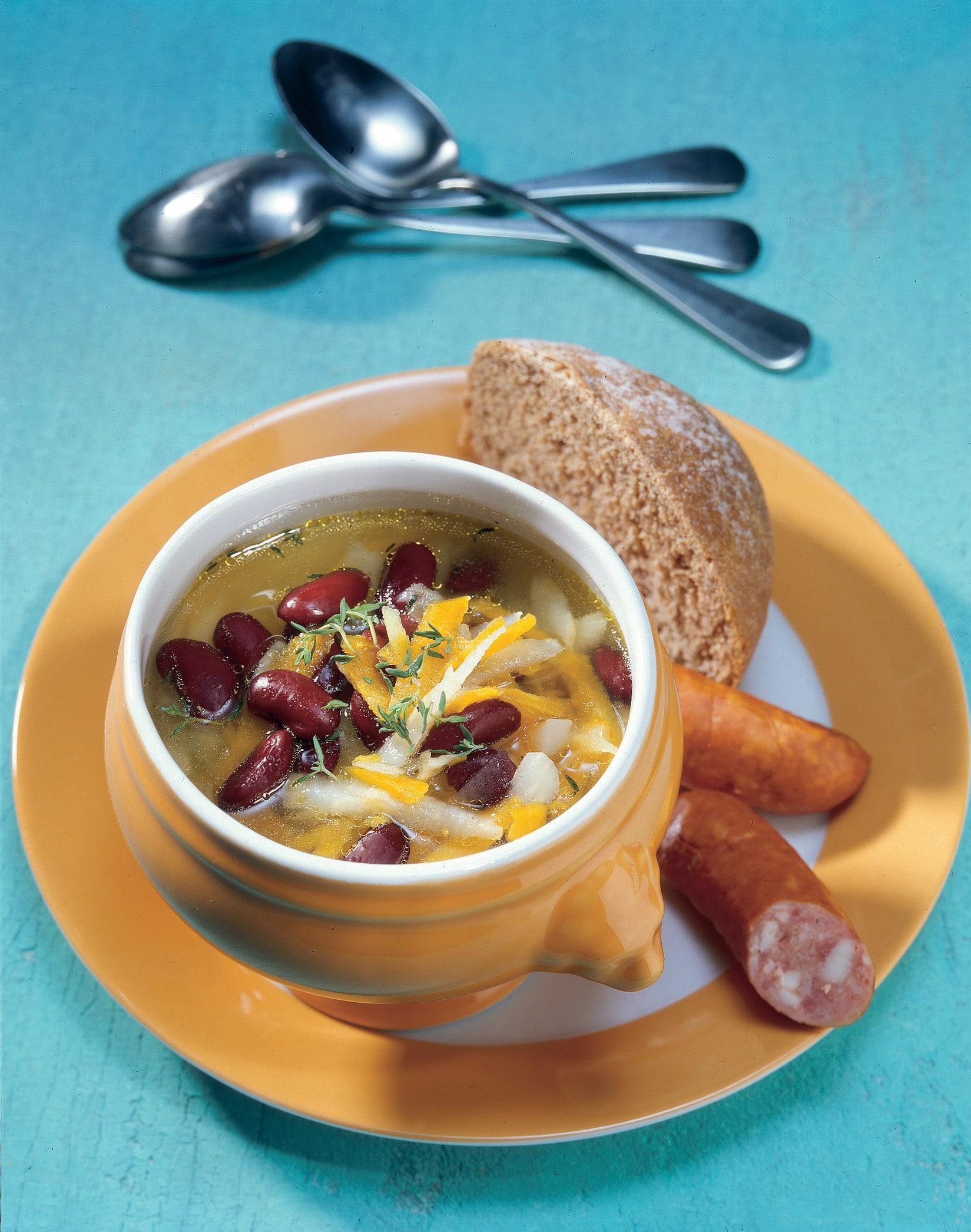 Rote Bohnensuppe