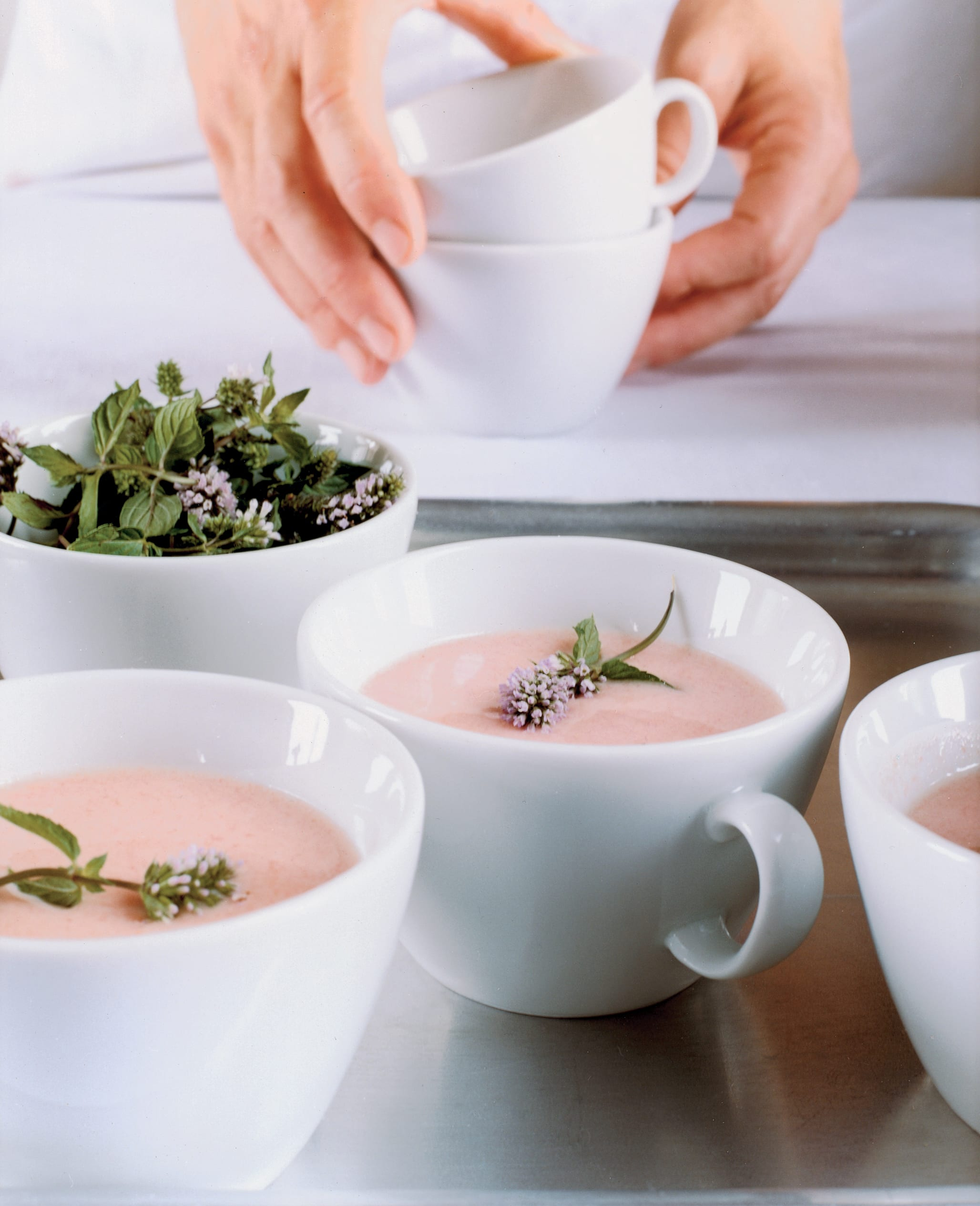 Soupe au yogourt