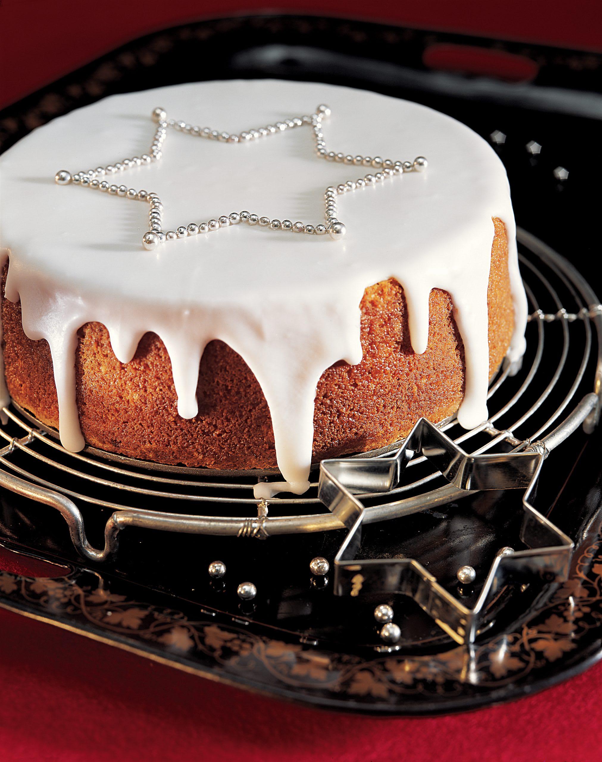 Roter Linsen-Kuchen