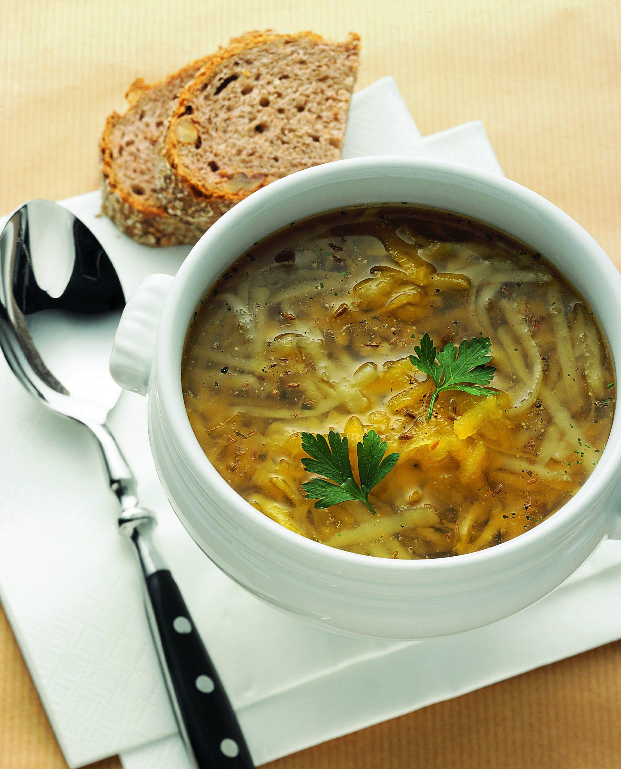 Rüben-Kartoffel-Suppe