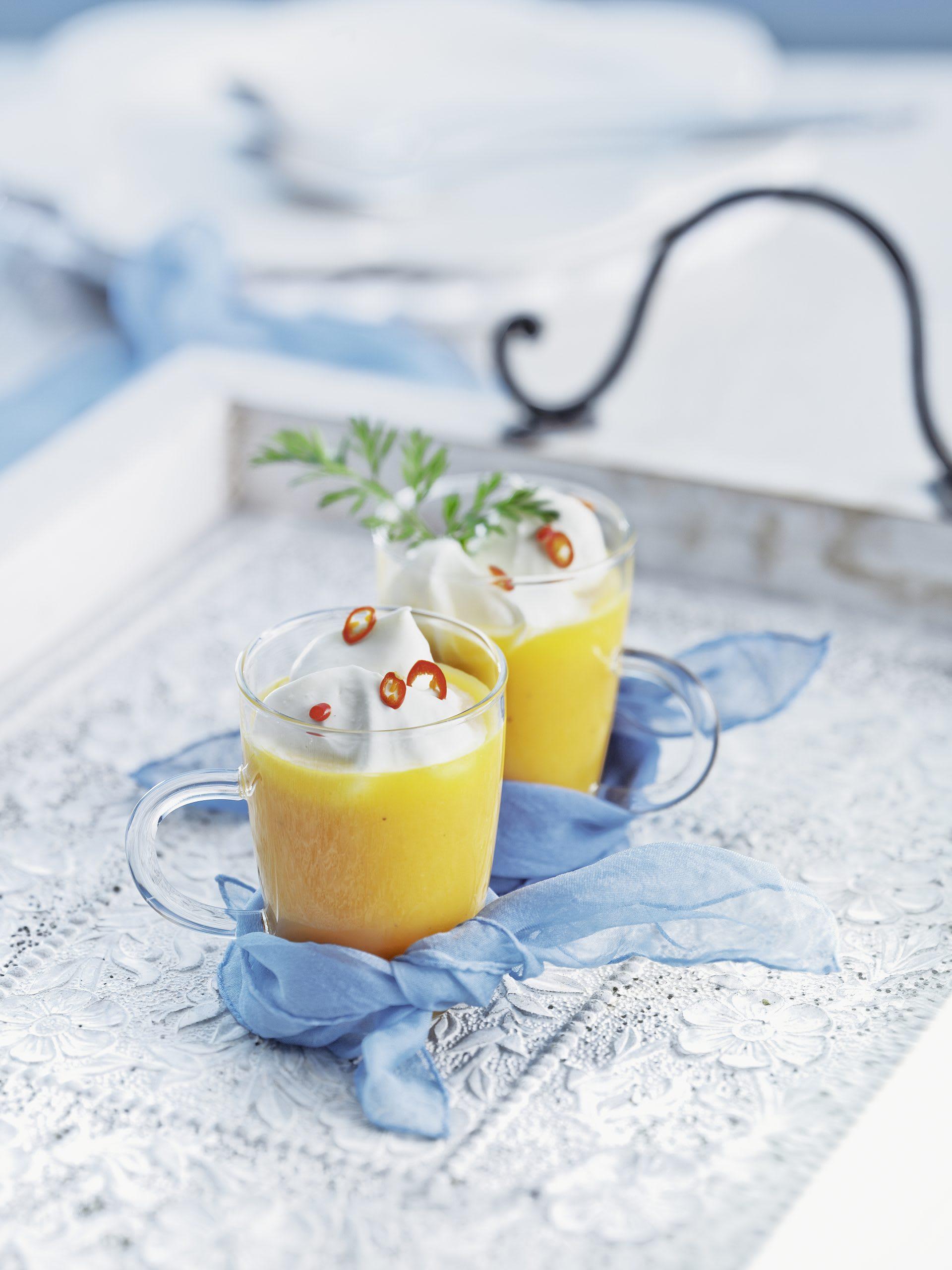 Cappuccino aux carottes