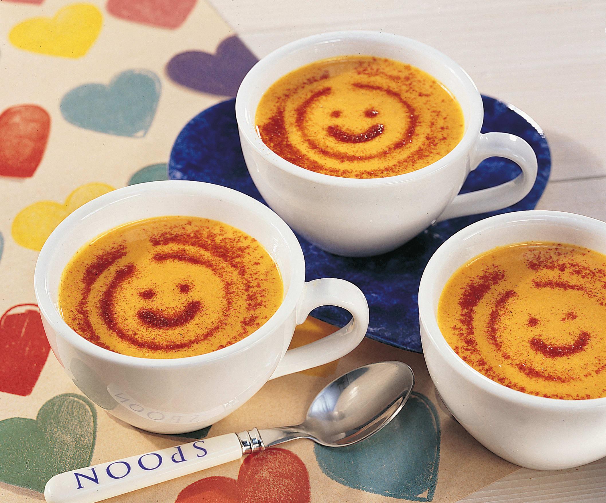 Rüebli-Curry-Süppchen