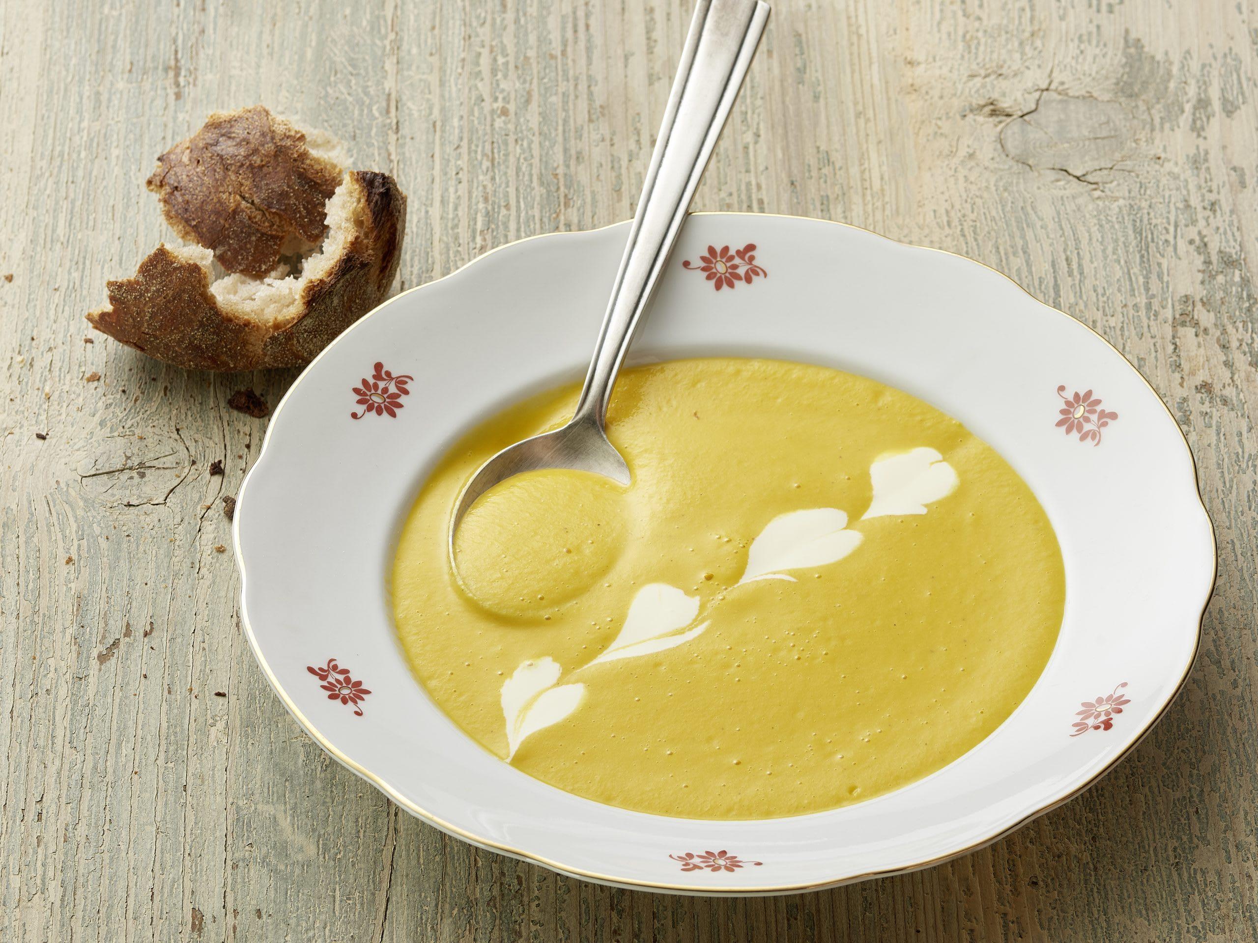 Rüebli-Ingwer-Suppe