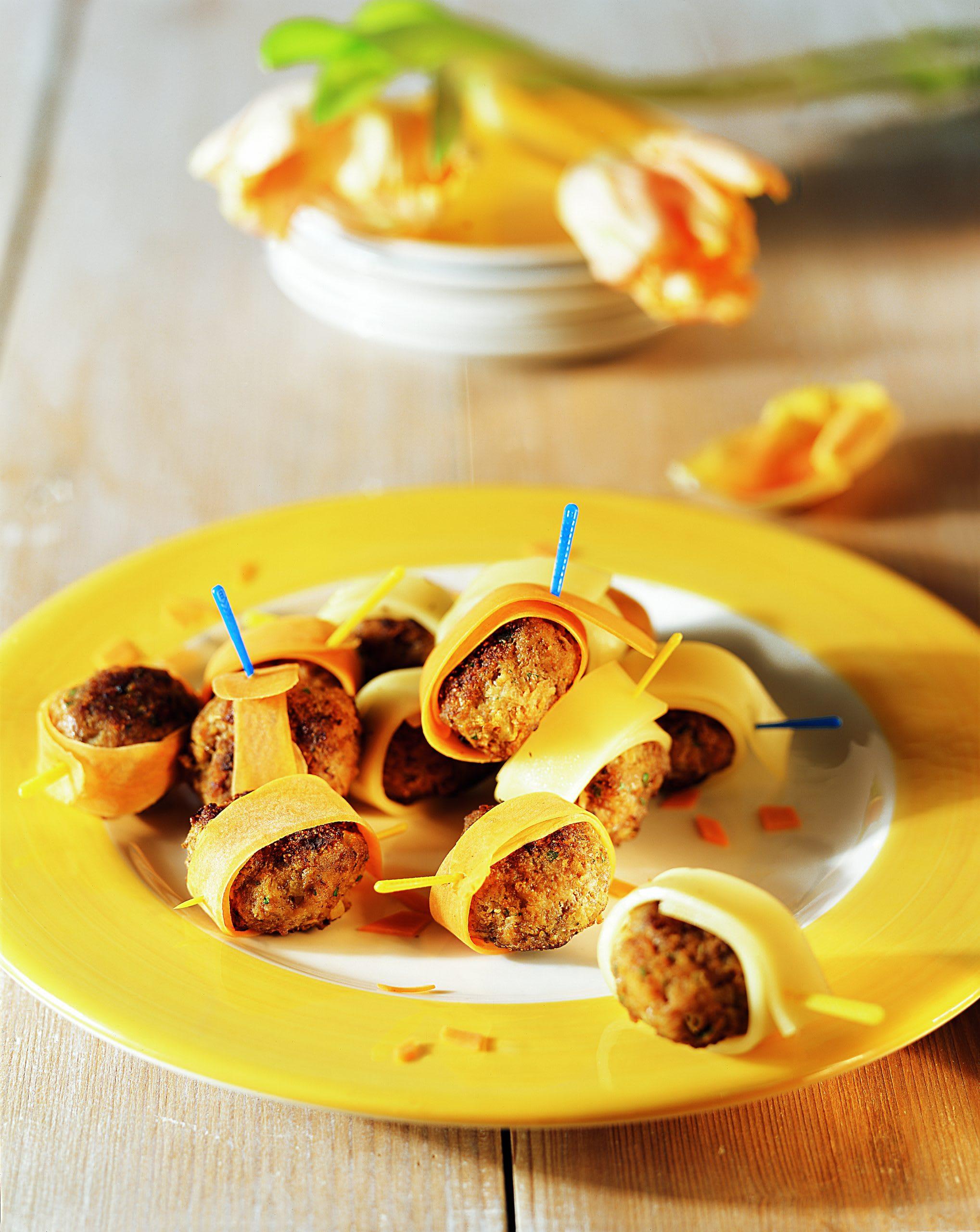 Burgers aux carottes et au fromage