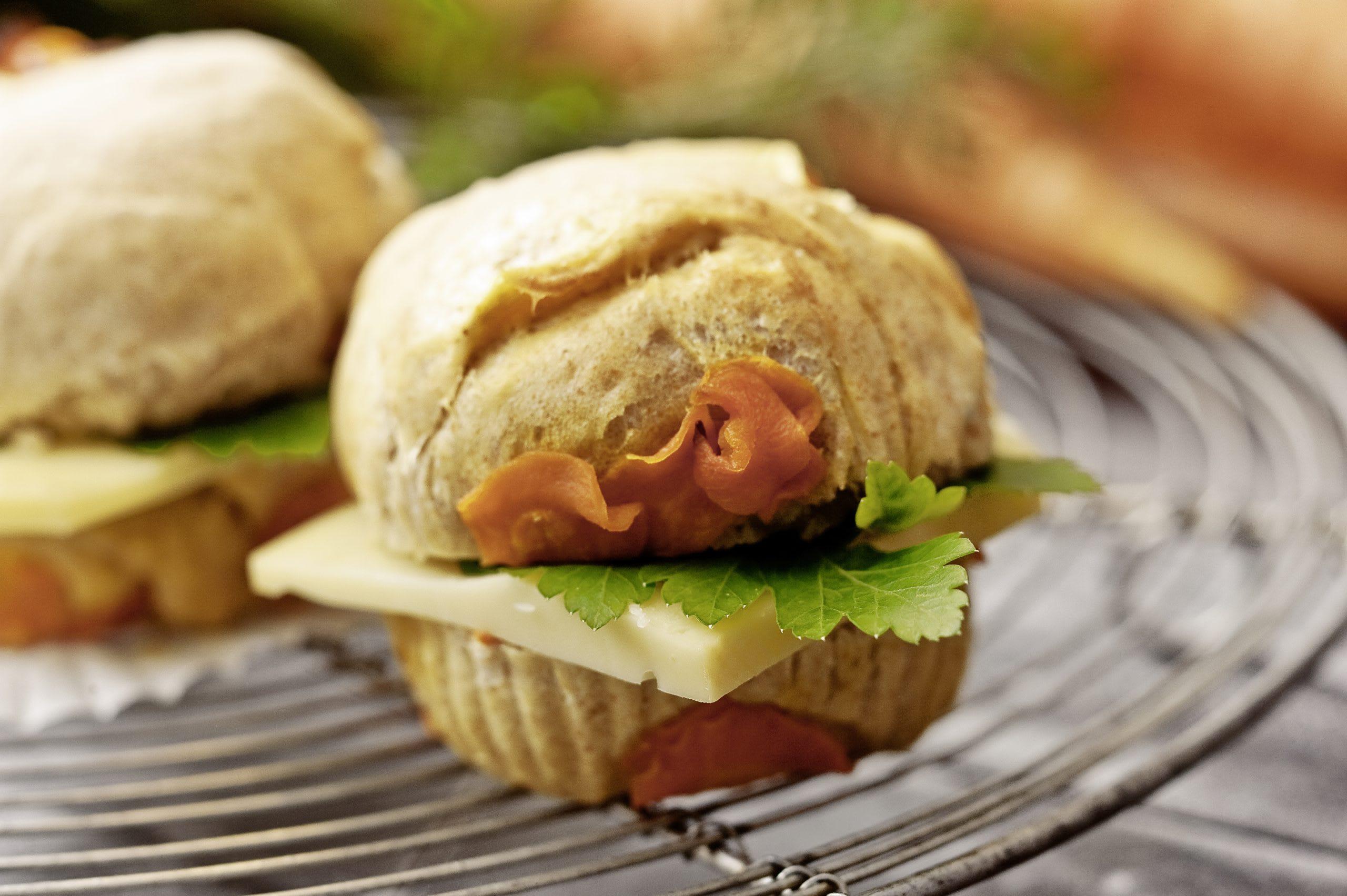 Rüebli-Käse-Muffins