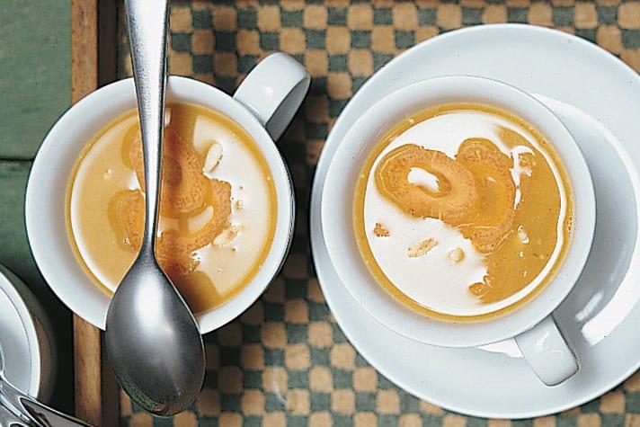 Soupe de lentilles à la carotte