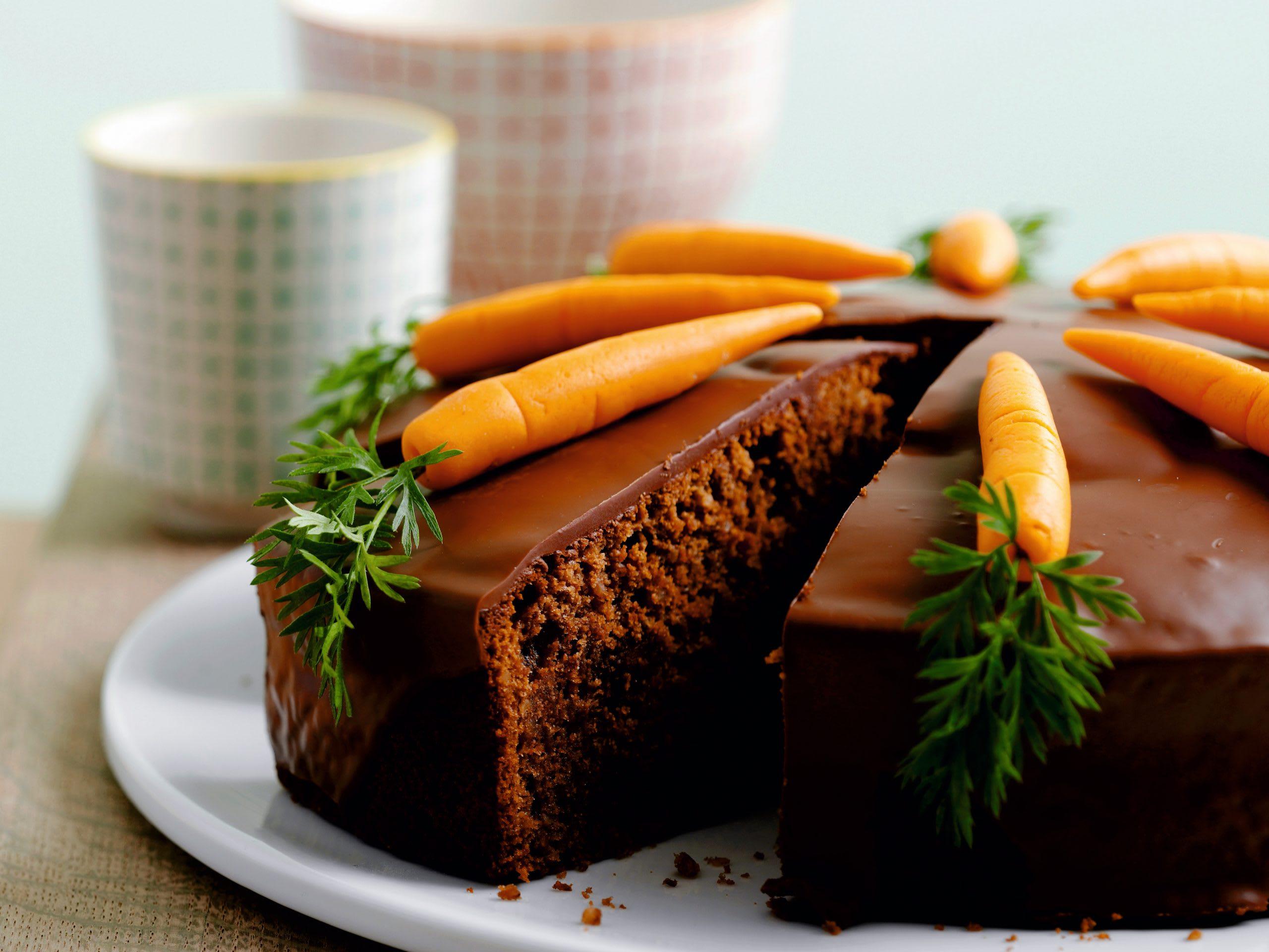 Rüebli-Schokoladenkuchen
