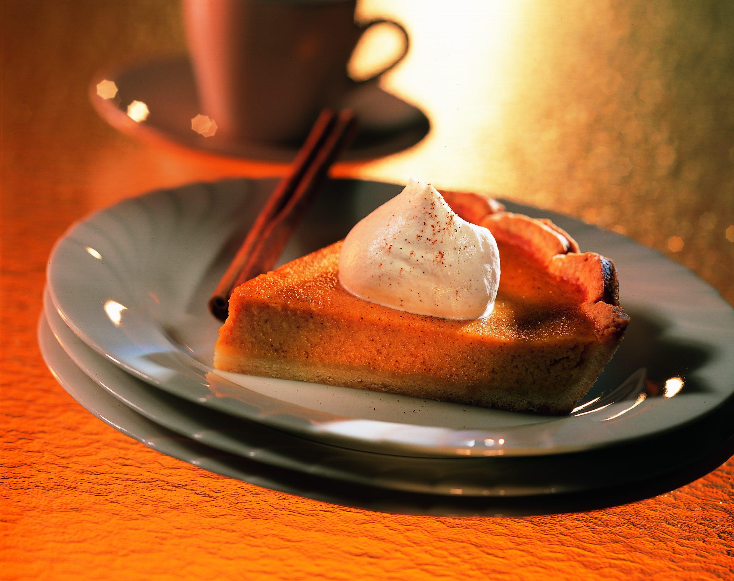 Tarte aux carottes et crème à la cannelle