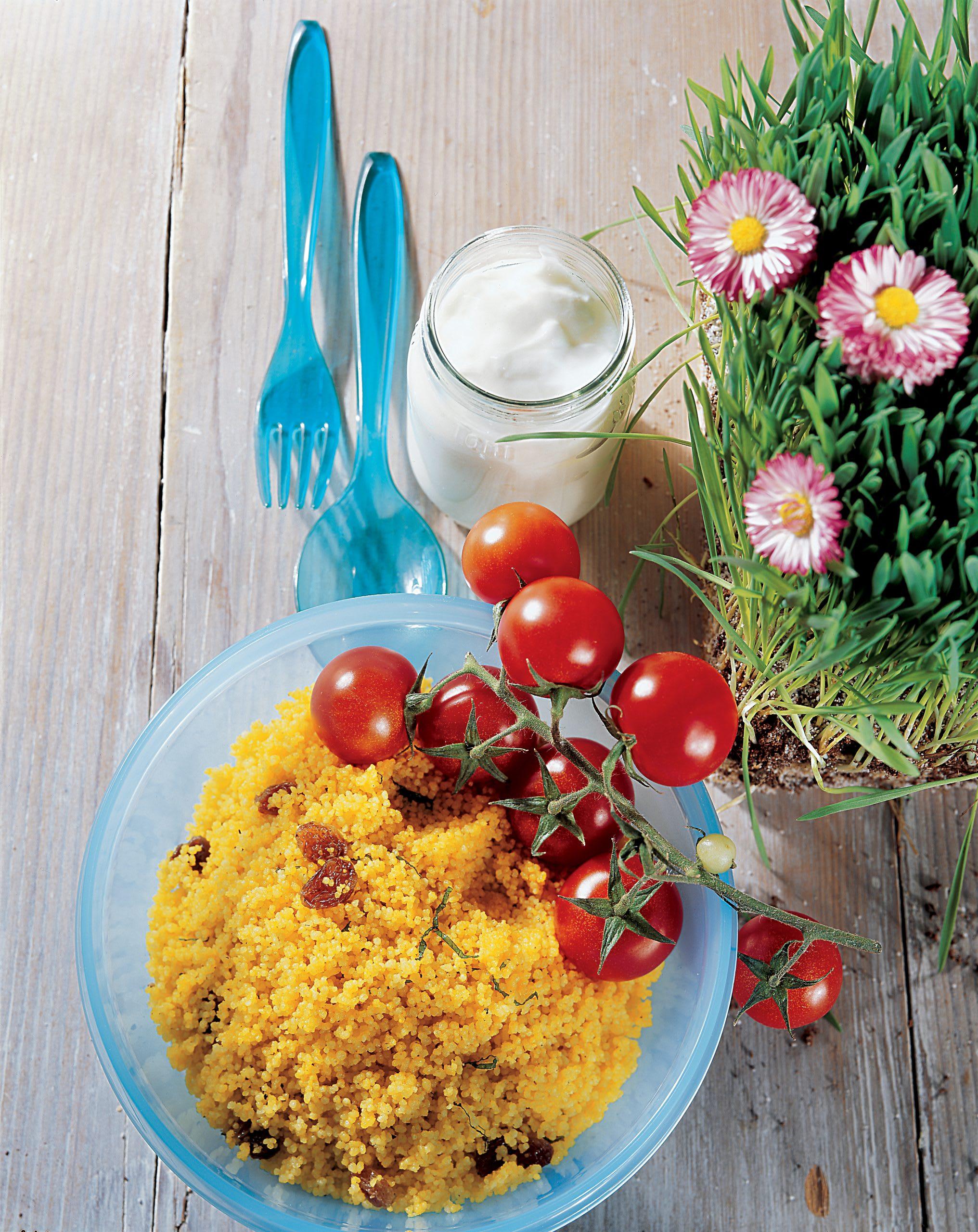 Safran-Couscous-Salat