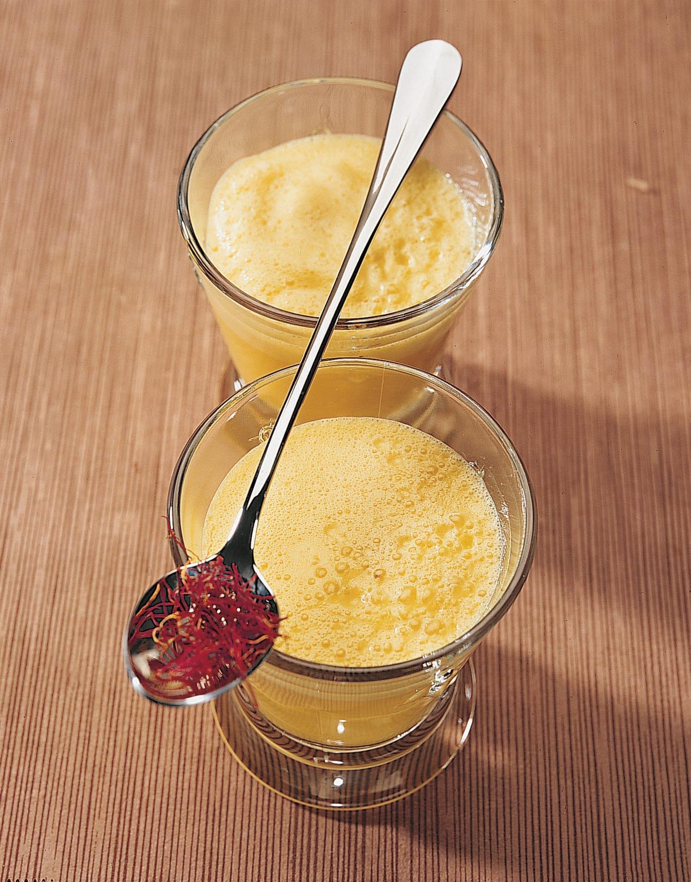 Frappé au safran et au miel