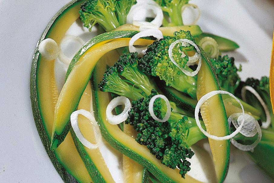 Salade de légumes au schabziger